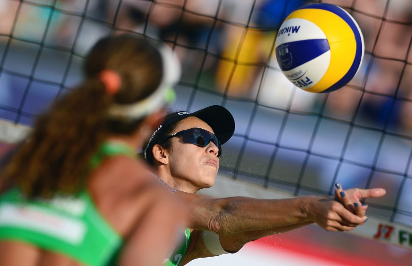 Talita Antunes—The pressure on Brazil's top-ranked women's beach-­volleyball team to deliver gold on Copacabana Beach will be intense. França briefly retired after winning a bronze in London; Antunes is a third-time Olympian.