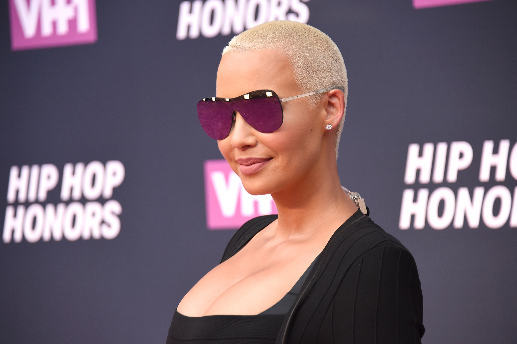 Amber Rose attends the VH1 Hip Hop Honors: All Hail The Queens at David Geffen Hall on July 11, 2016 in New York City.  (Photo by Nicholas Hunt/Getty Images for VH1)