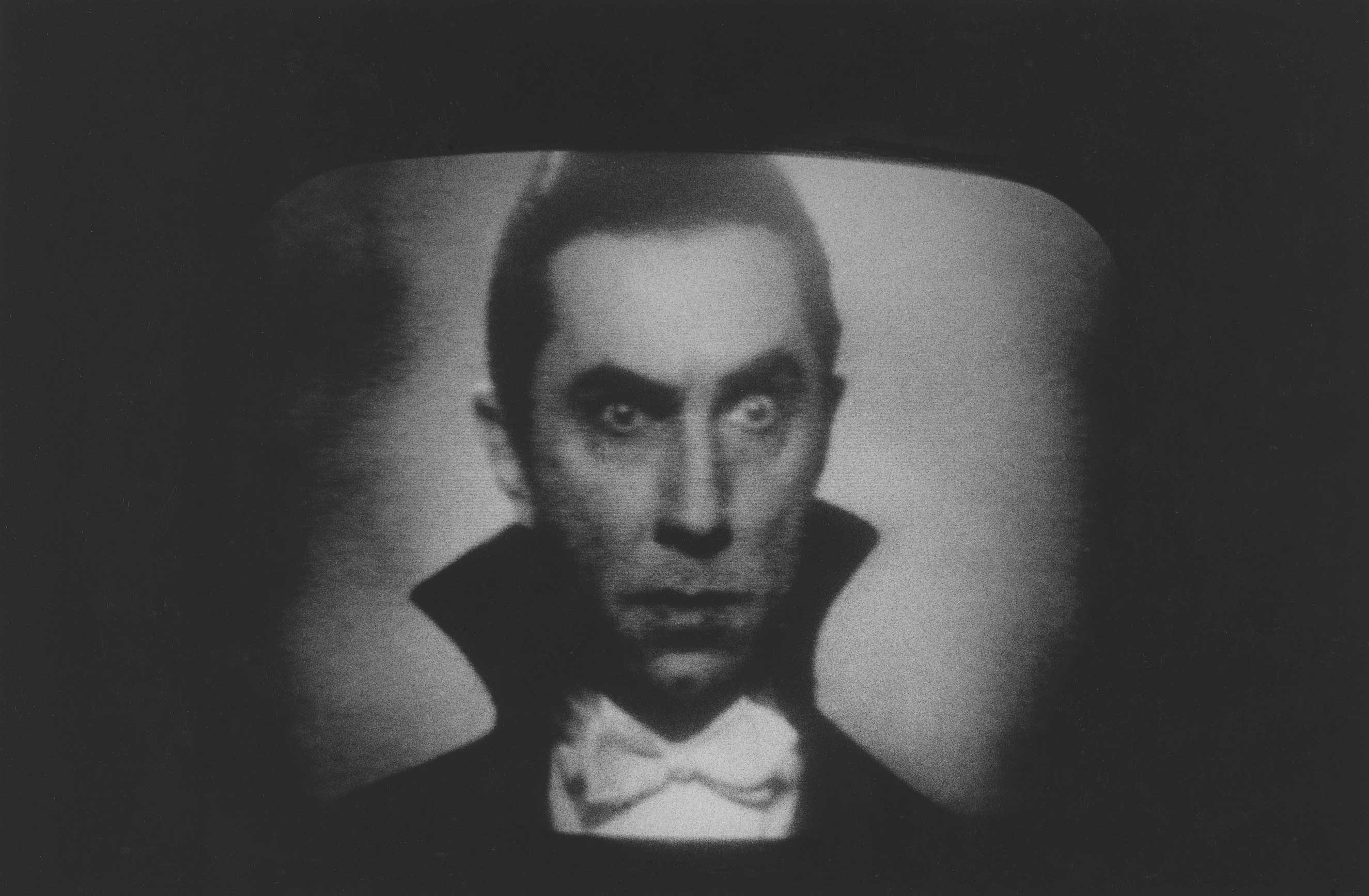 Bela Lugosi as Dracula on television, 1958                               John Gossage: Early pictures when Diane was still looking. Looking at a world she was about to enter. She told me she showed her early photographs to John Szarkowski who said that they where brilliant  but not quite pictures.