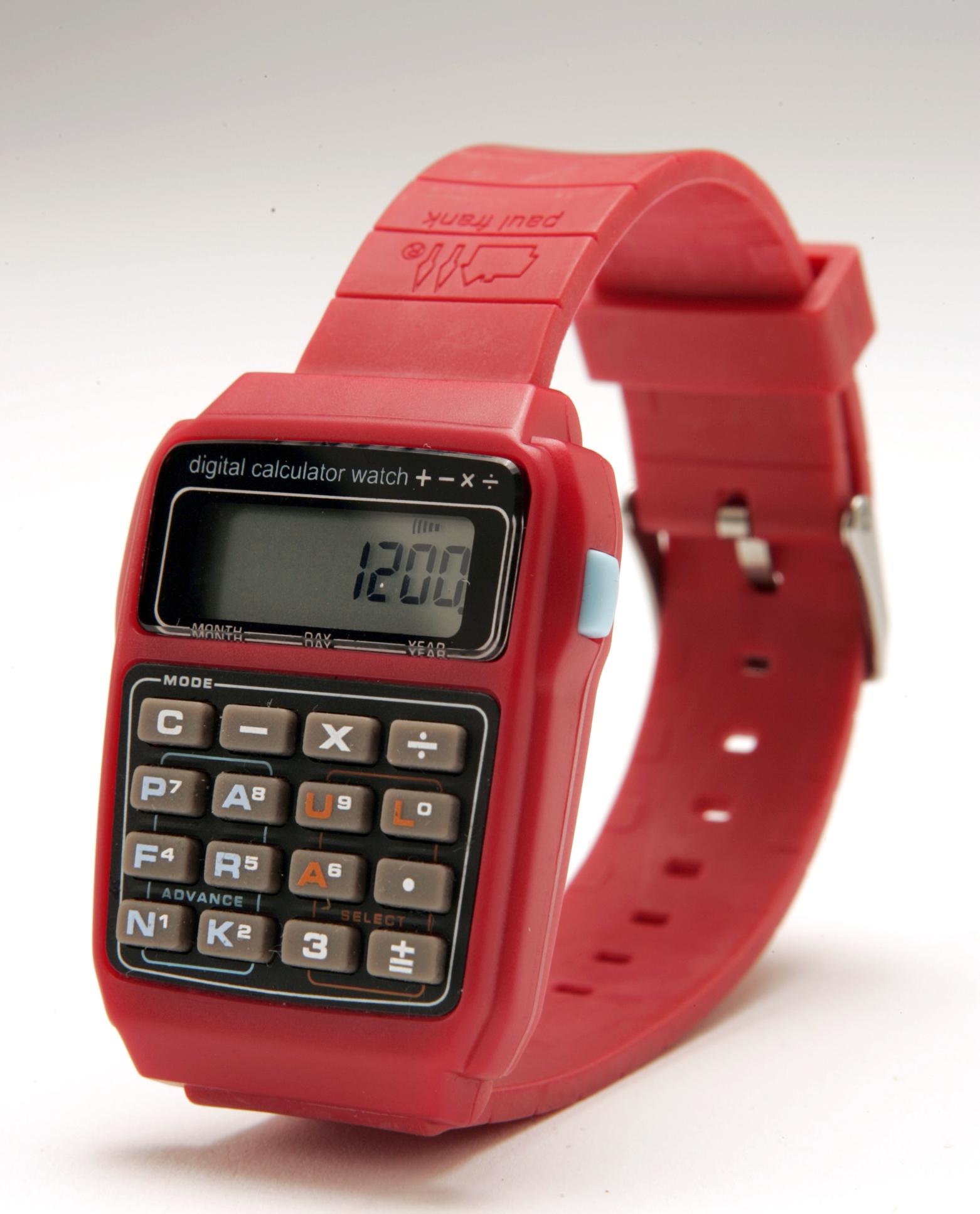 Paul Frank Calculator watch.