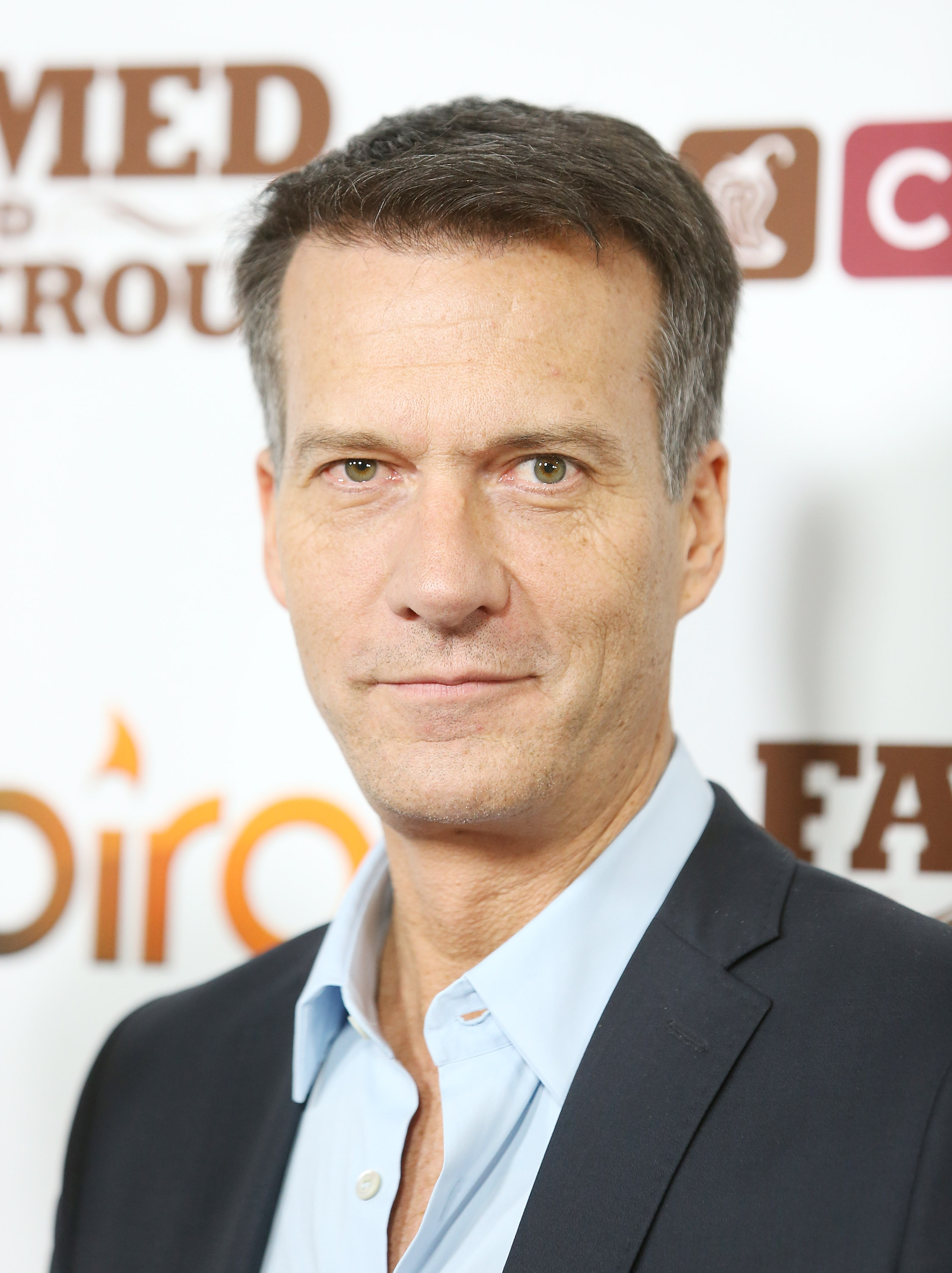 Mark Crumpacker arrives at the Chipotle world premiere of original comedy web series  Farmed And Dangerous  held at DGA Theater on February 11, 2014 in Los Angeles, California.