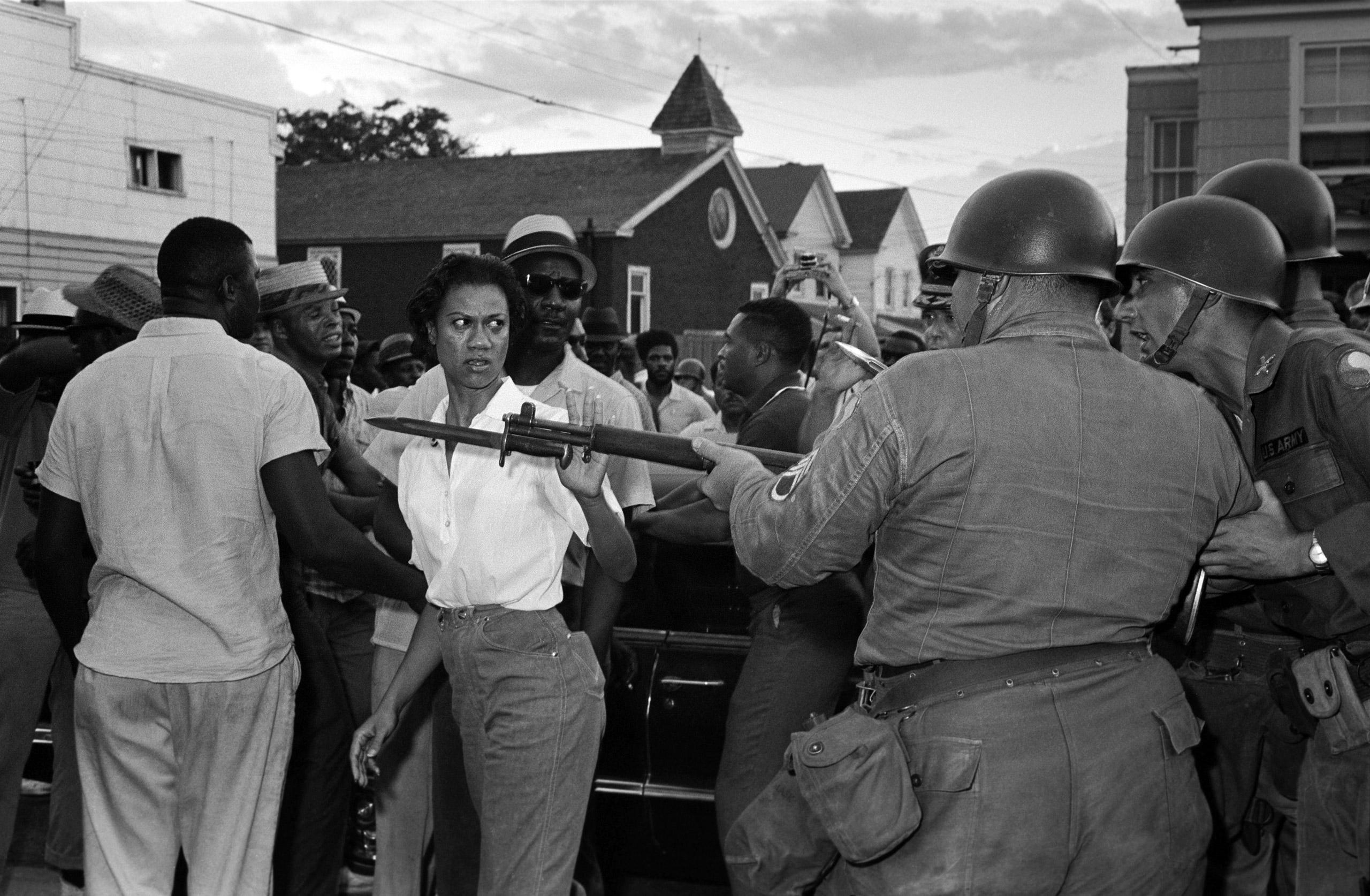 Civil rights in Cambridge, Gloria Richardson.