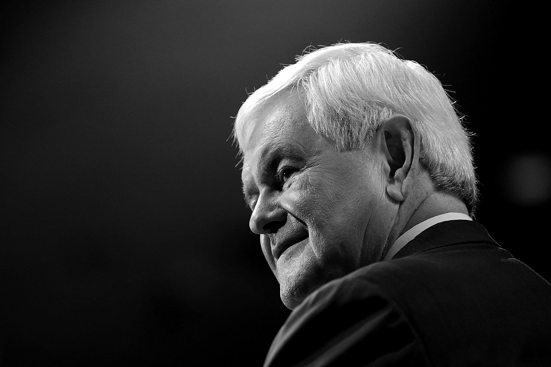 Newt Gingrich, former speaker of the House