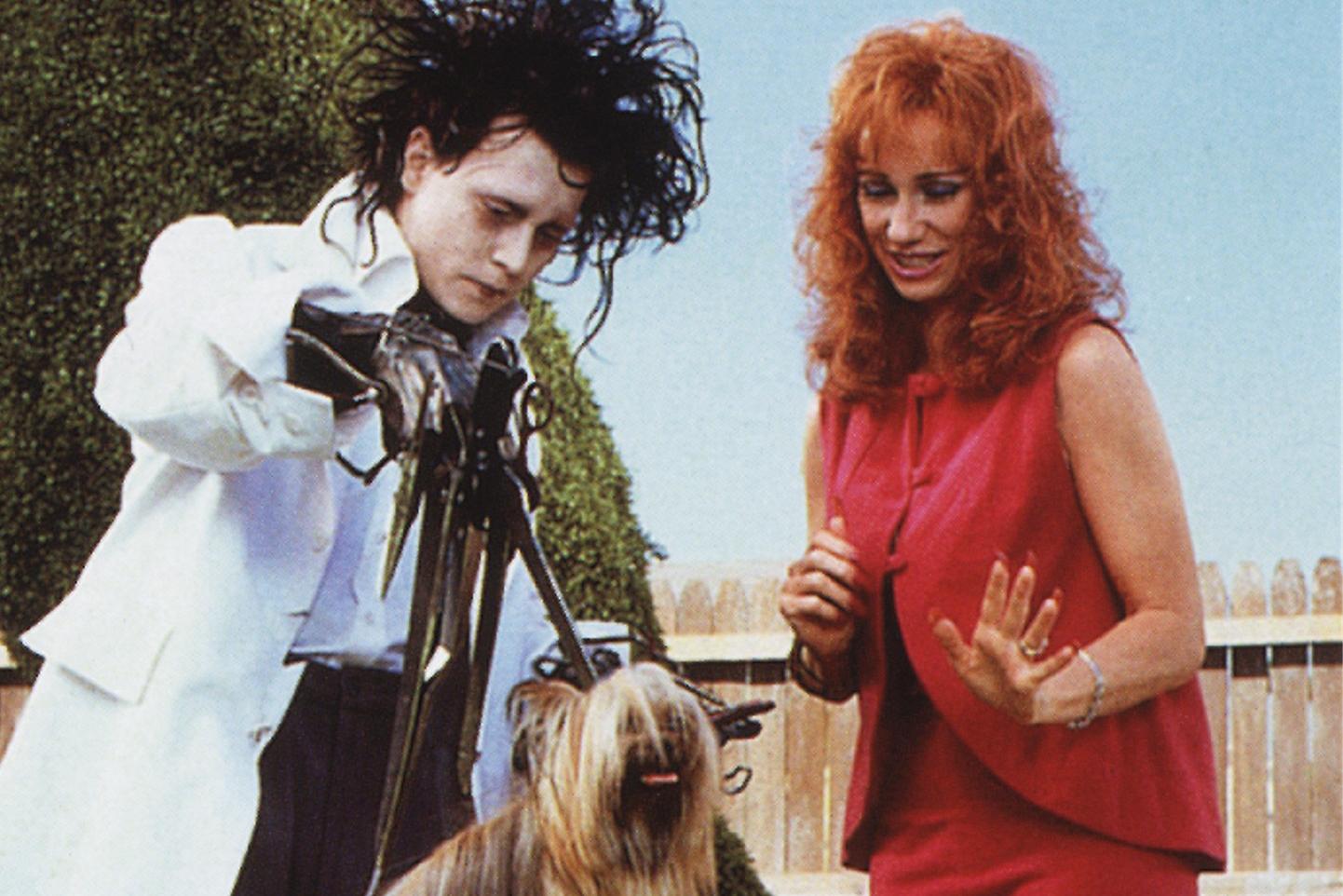 Movie: Edward Scissorhands, 1990; Play: Edward Scissorhands, 2005.