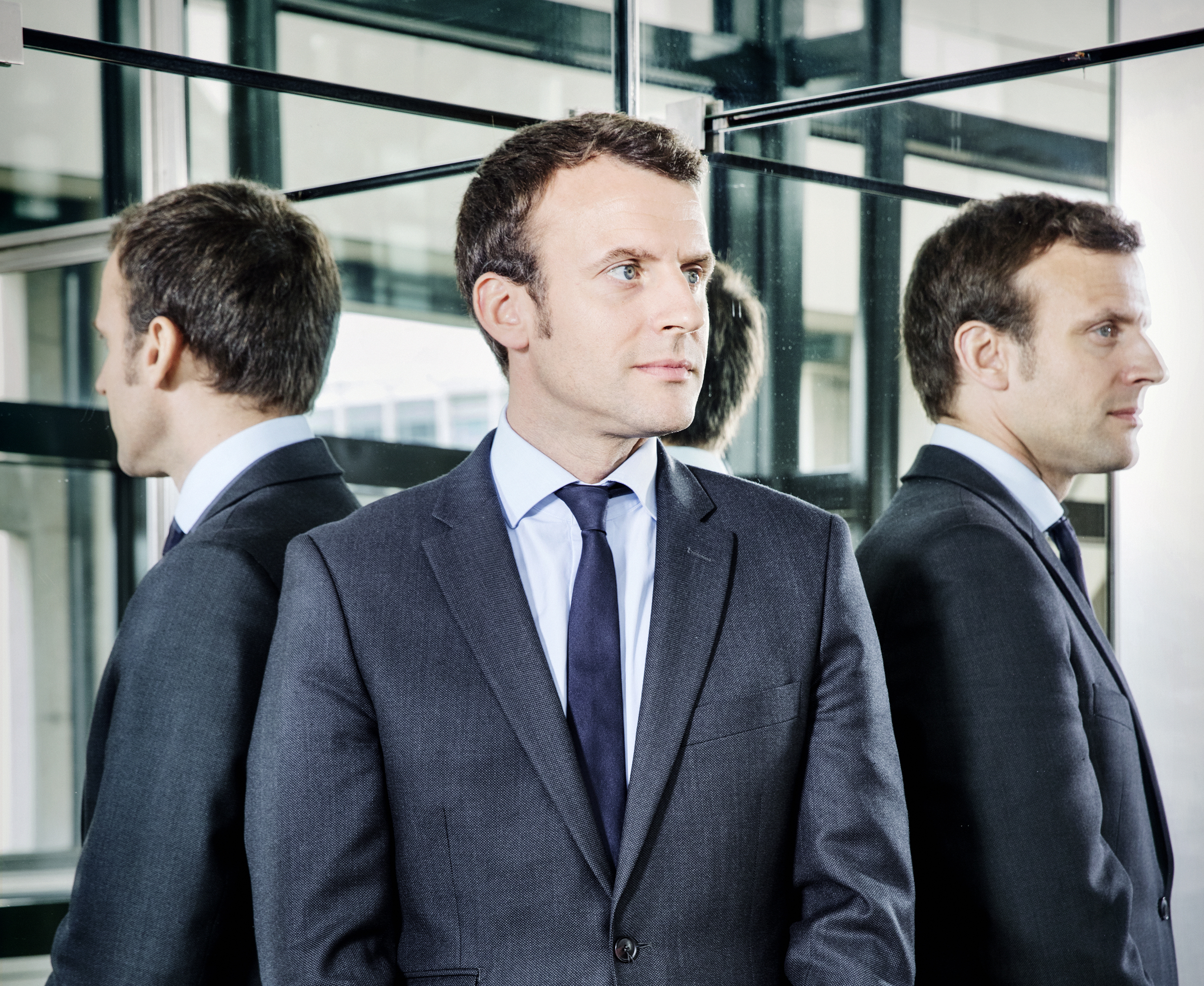 Emmanuel Macron, France's Minister for the Economy, Industry and Digital Affairs, in the Ministry of Economy and Finance in Paris on June 13, 2016.