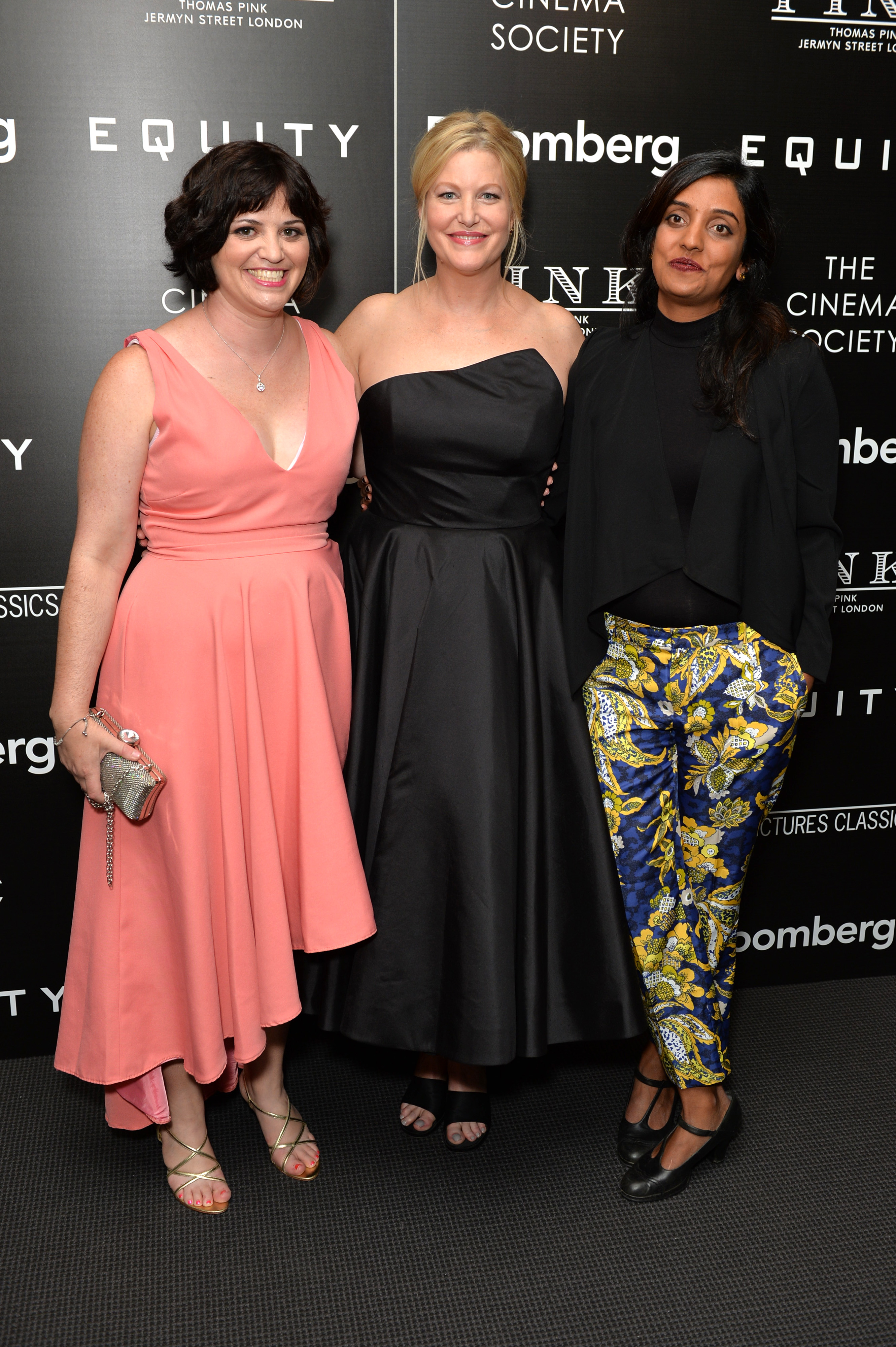 Screenwriter Amy Fox, actor Anna Gunn and director Meera Menon attend a screening of  Equity  on July 26, 2016 in New York City.