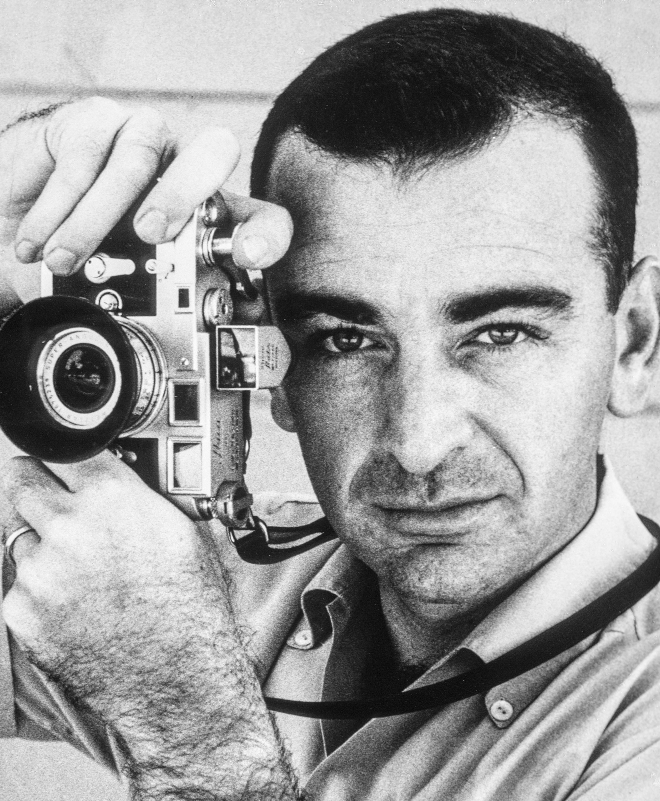 Portrait of photographer Fred Ward.