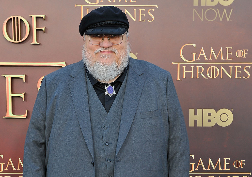 George R.R. Martin attends HBO's  Game Of Thrones  Season 5 San Francisco Premiere at San Francisco Opera House on March 23, 2015 in San Francisco, California.