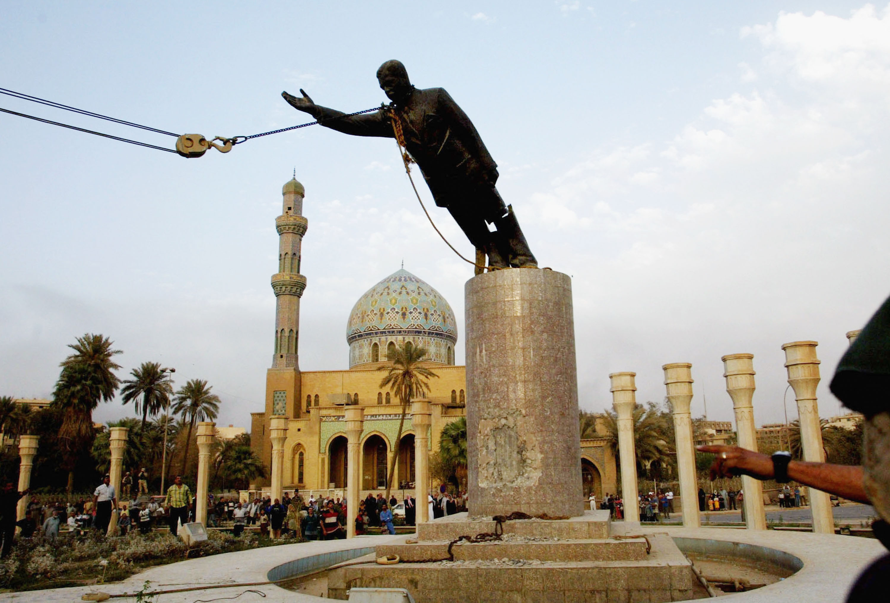 The Guy Who Toppled Saddam Hussein's Statue Wishes He Hadn't | Time