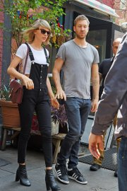 Taylor Swift and Calvin Harris: Taylor Swift and Calvin Harris might be the most buzzed-about split of the summer. The duo called it quits after 15 months of dating, but Swift made headlines when she started dating actor Tom Hiddleston just two weeks after her breakup from Harris. Since the split, the drama has only ramped up, most notably with social media skirmishes. In the words of T. Swift — it used to be mad love, but now there's bad blood.