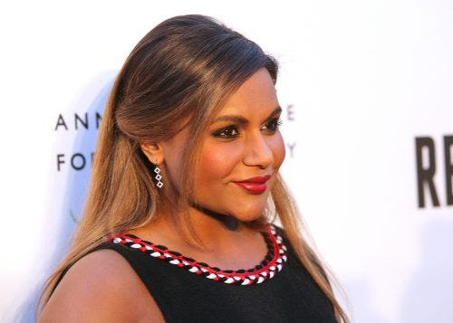 CENTURY CITY, CA - APRIL 21:  Actress Mindy Kaling arrives at the opening of  Refugee  at The Annenberg Space For Photography on April 21, 2016