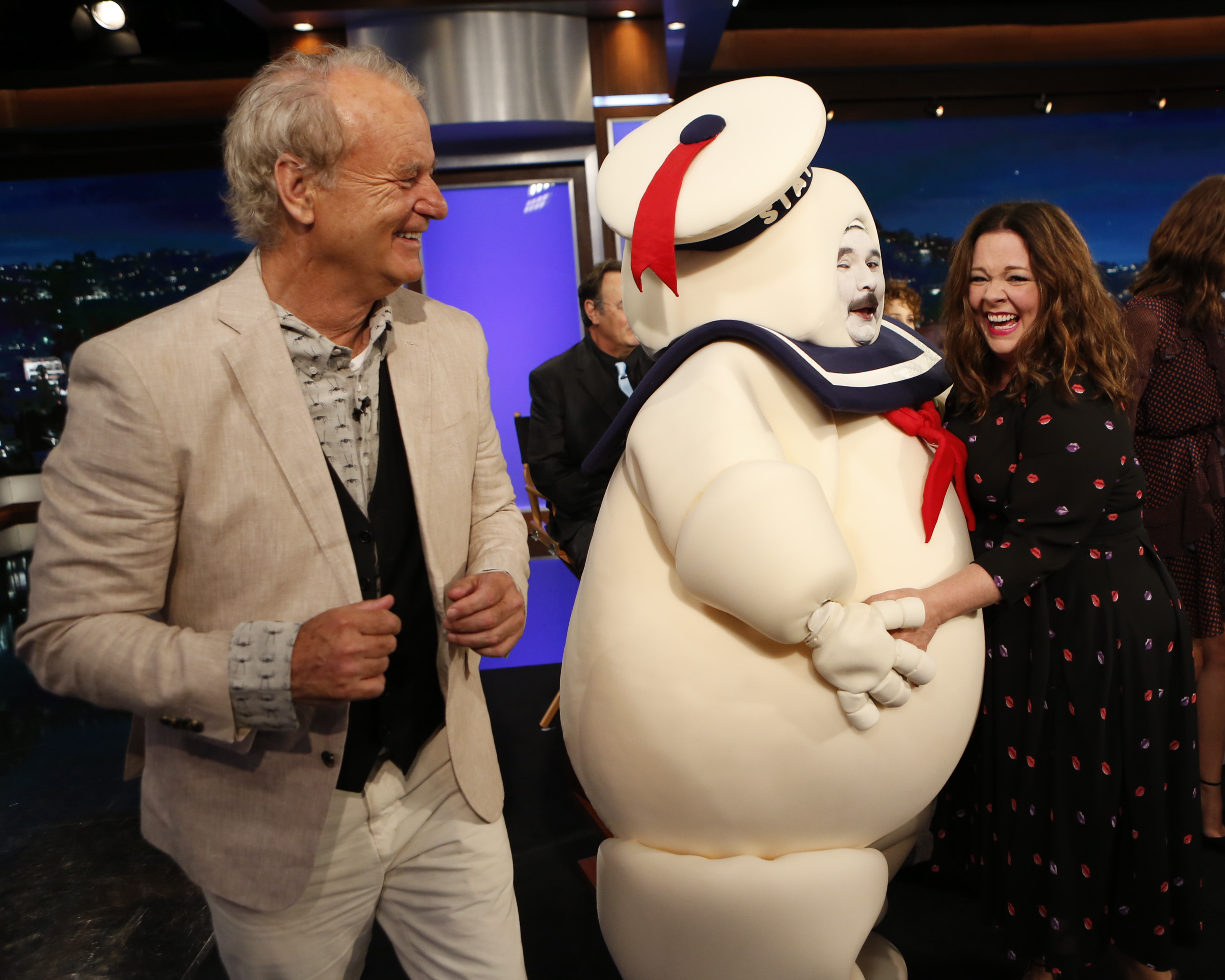 Bill Murray, Melissa McCarthy on  Jimmy Kimmel Live