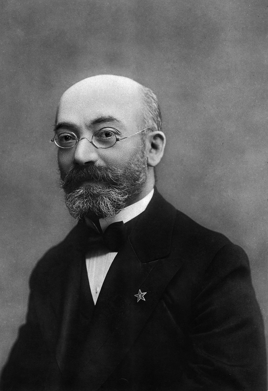 Esperanto creator L.L. Zamenhof.