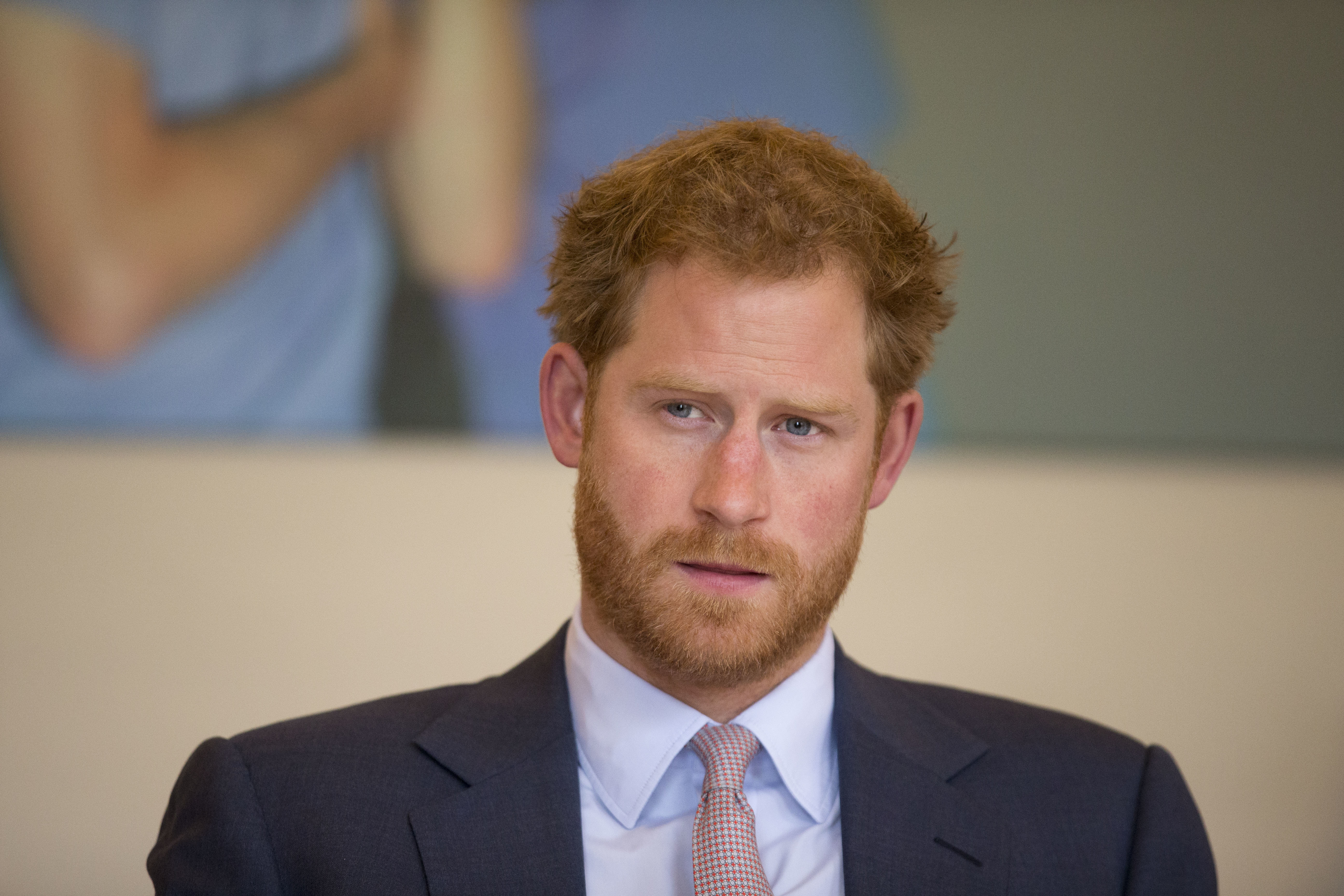 Prince Harry takes part in a round table discussion with HIV doctors as part of his desire to raise public awareness in the fight against HIV and AIDS both internationally and in the UK at King's College Hospital on July 7, 2016 in London, England.