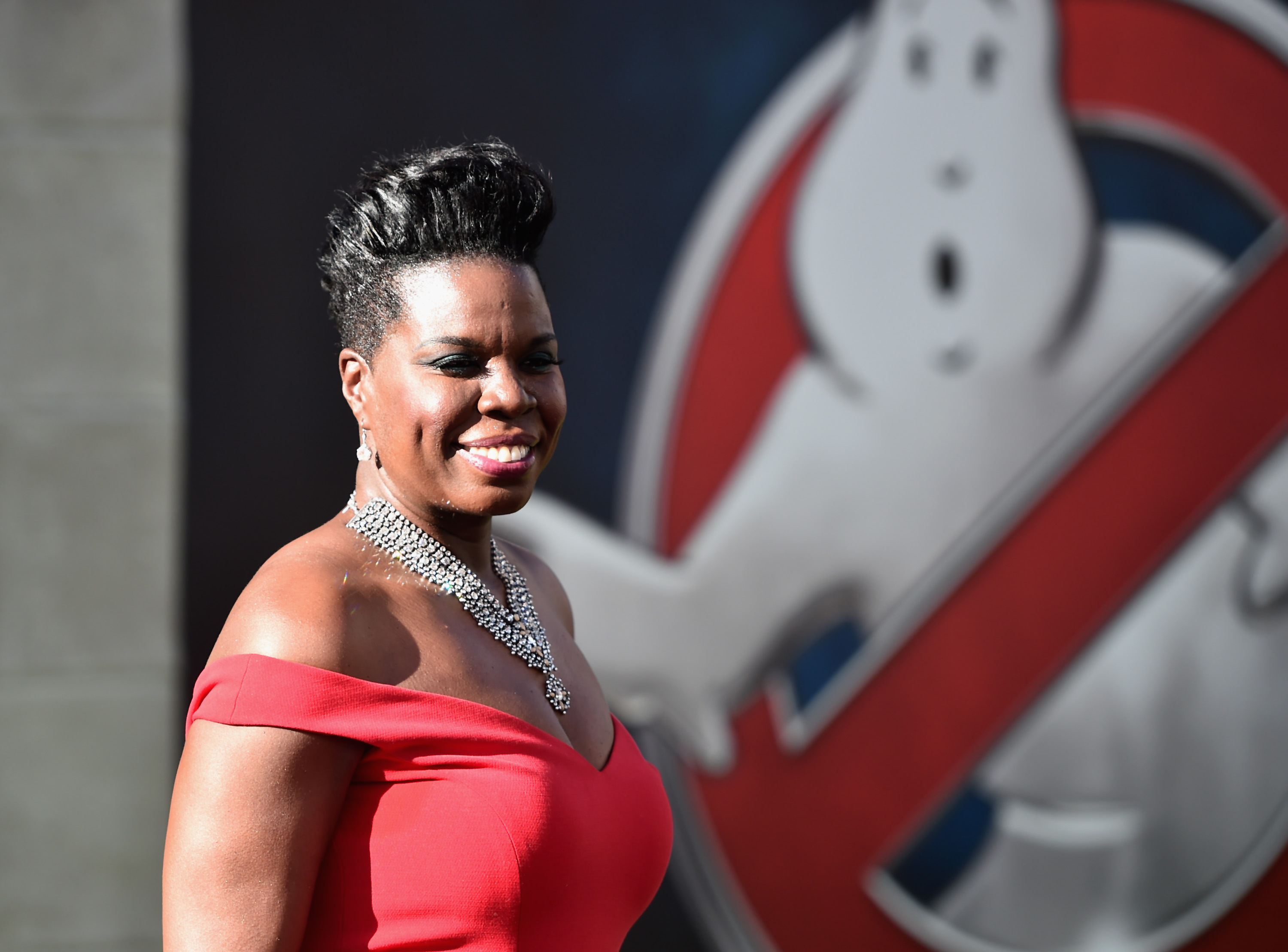 Actress Leslie Jones arrives at the premiere of Sony Pictures' Ghostbusters at TCL Chinese Theatre on July 9, 2016, in Hollywood