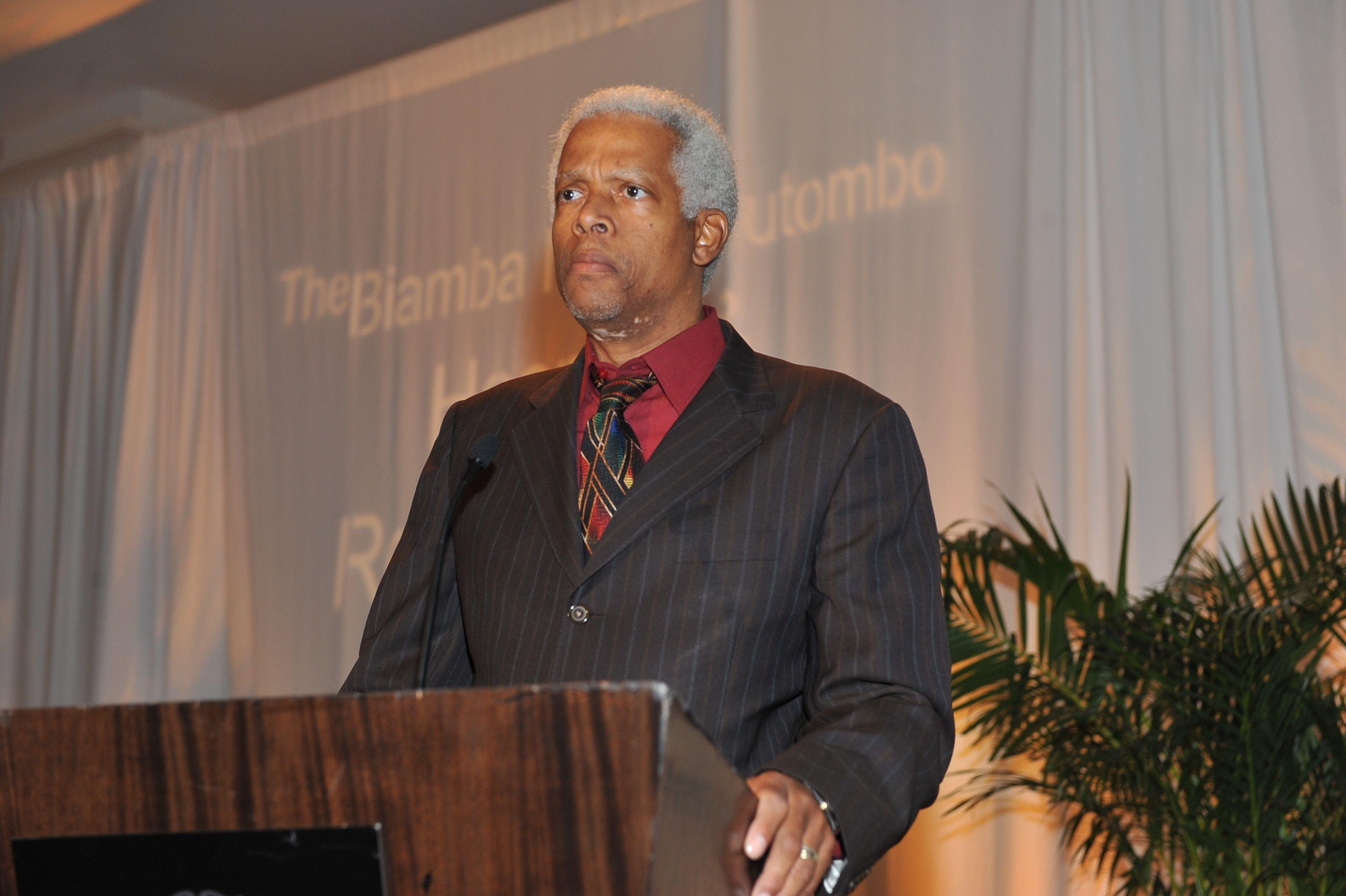 Congressman Hank Johnson attends the 2012 Caring for Congo gala at the ST Regis Atlanta in Atlanta, Ga., on April 28, 2012.