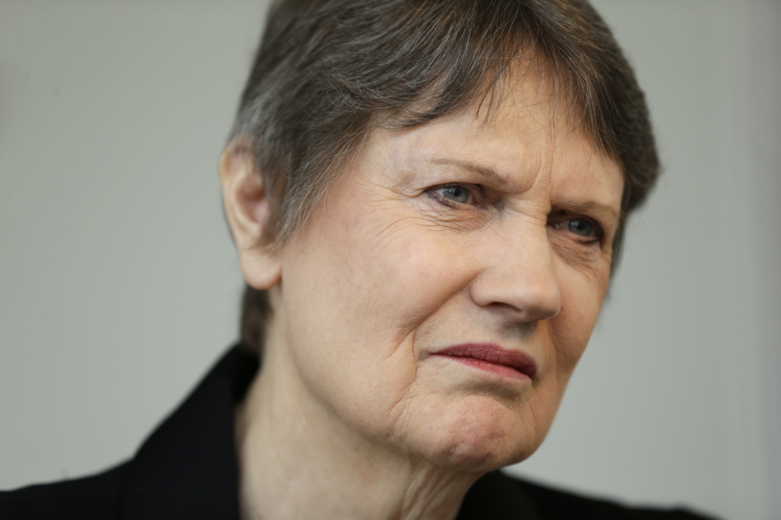Helen Clark, the former Prime Minister of New Zealand and senior United Nations official, speaks during an interview in New York on April 4, 2016.