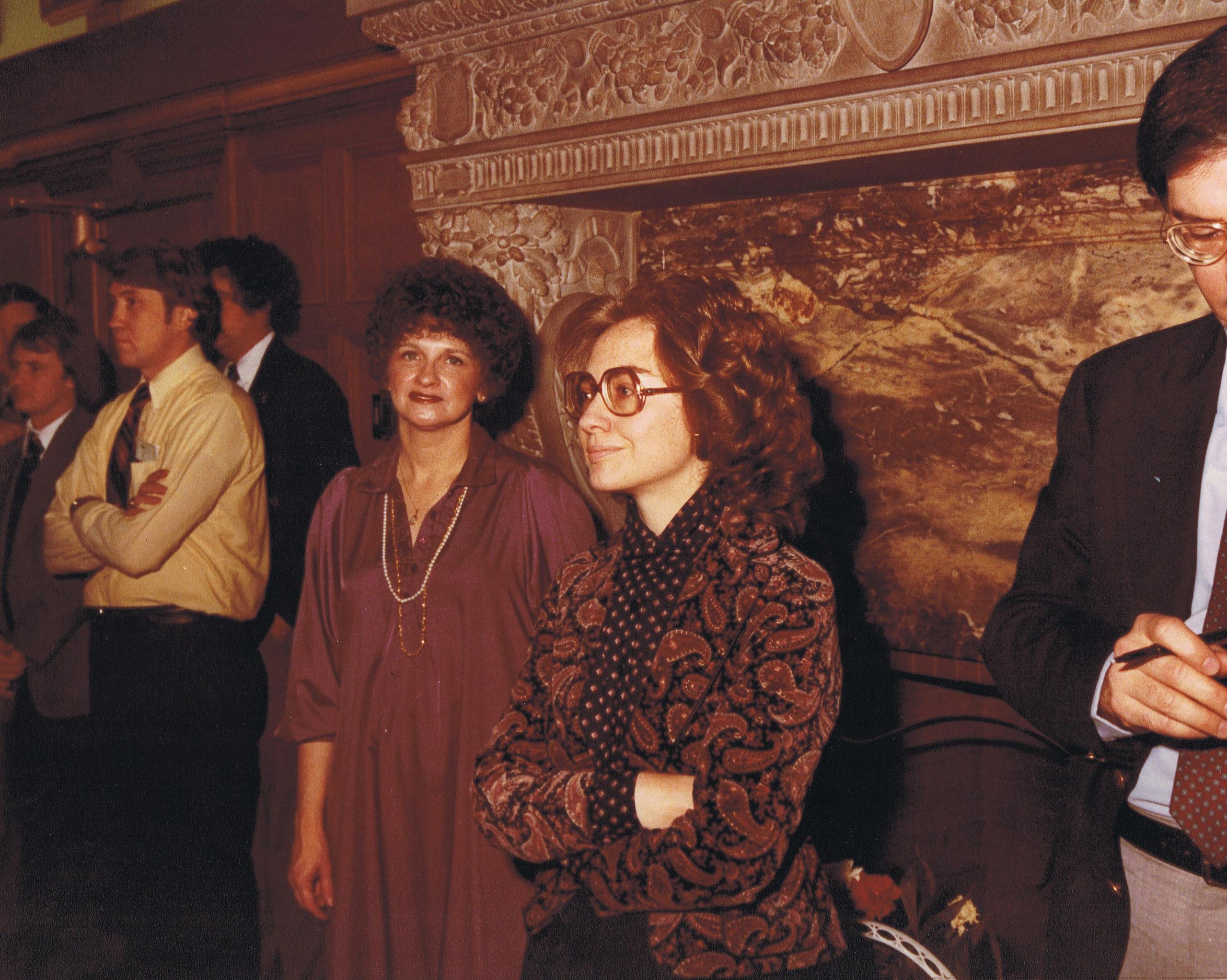 Hillary, c. 1979.