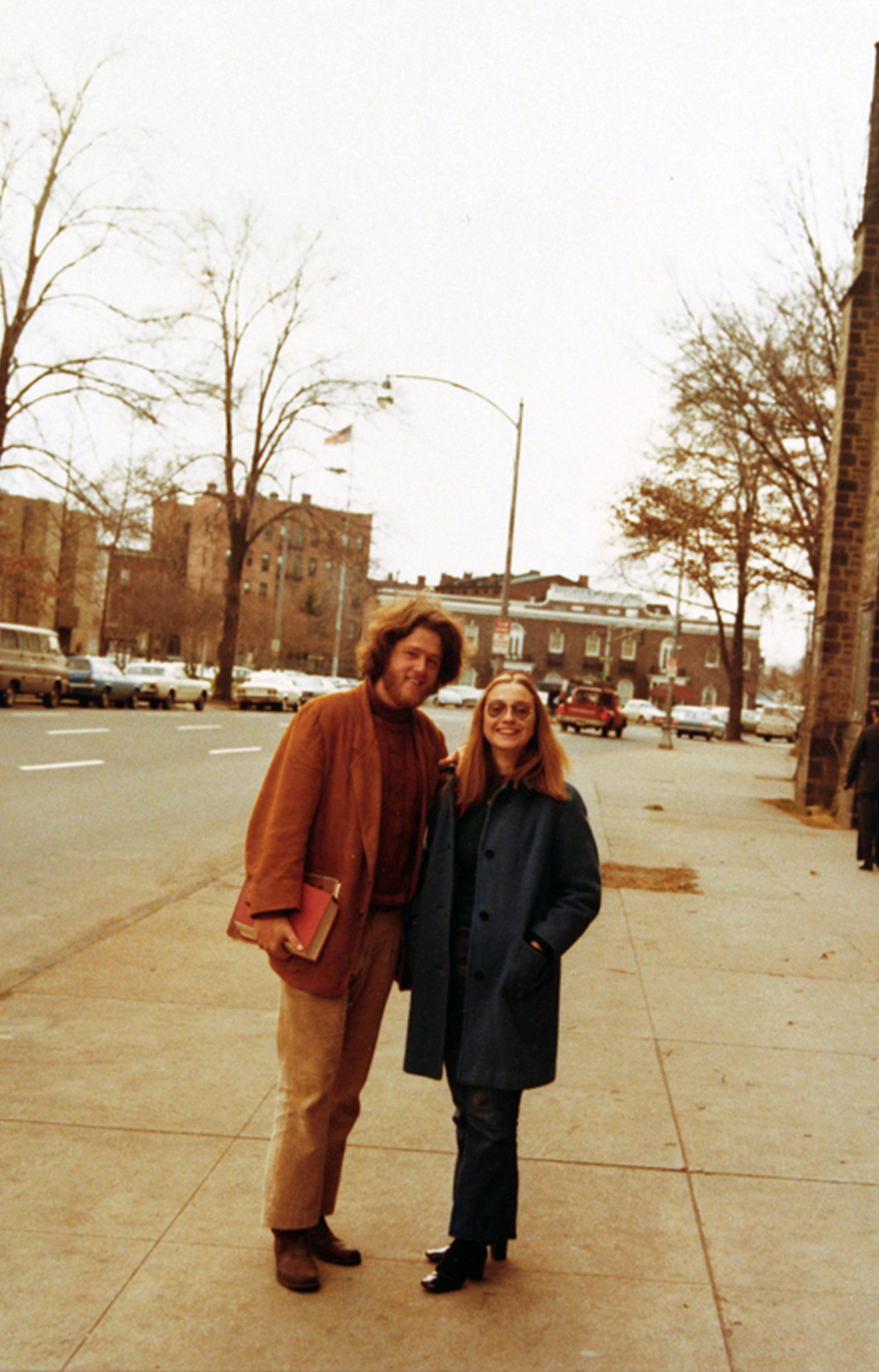 Bill and Hillary at Yale Law School, 1972.