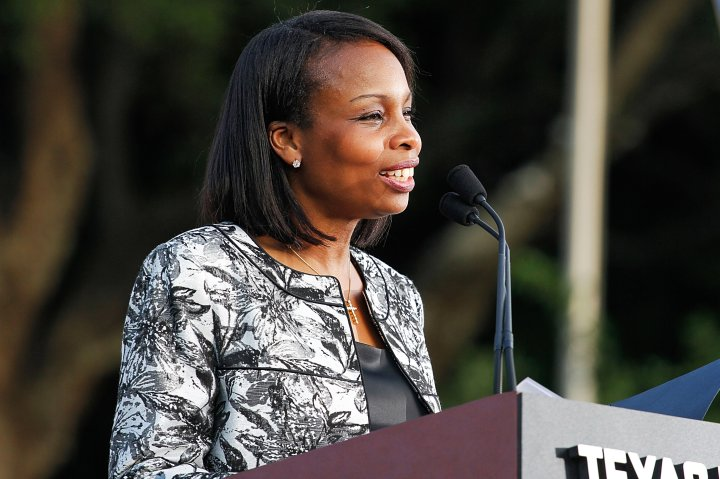 San Antonio Mayor Ivy Taylor, on May 18, 2015 in San Antonio, Texas.