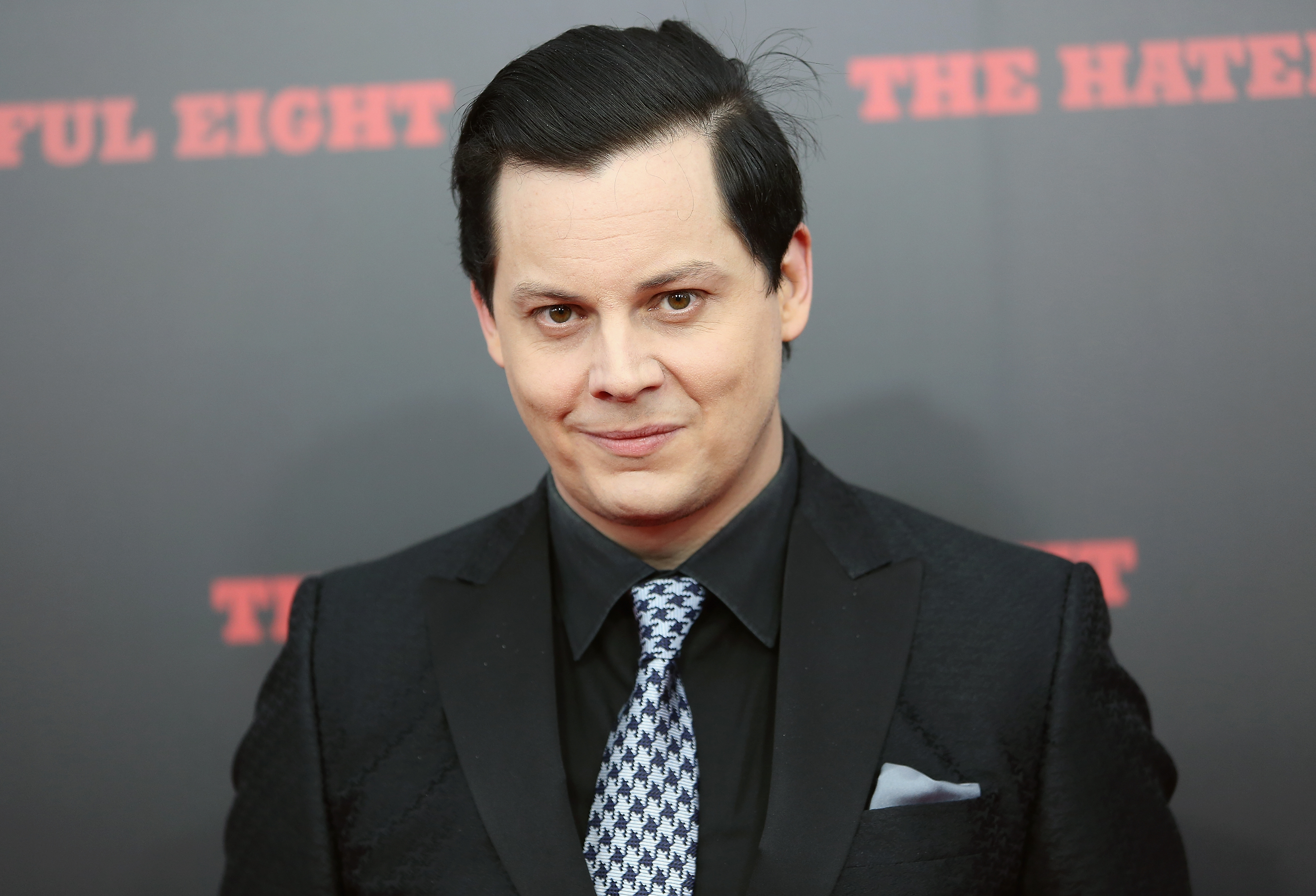 NEW YORK, NY - DECEMBER 14:  Musician Jack White attends the The New York Premiere Of  The Hateful Eight  on December 14, 2015 in New York City.  (Photo by Monica Schipper/FilmMagic)