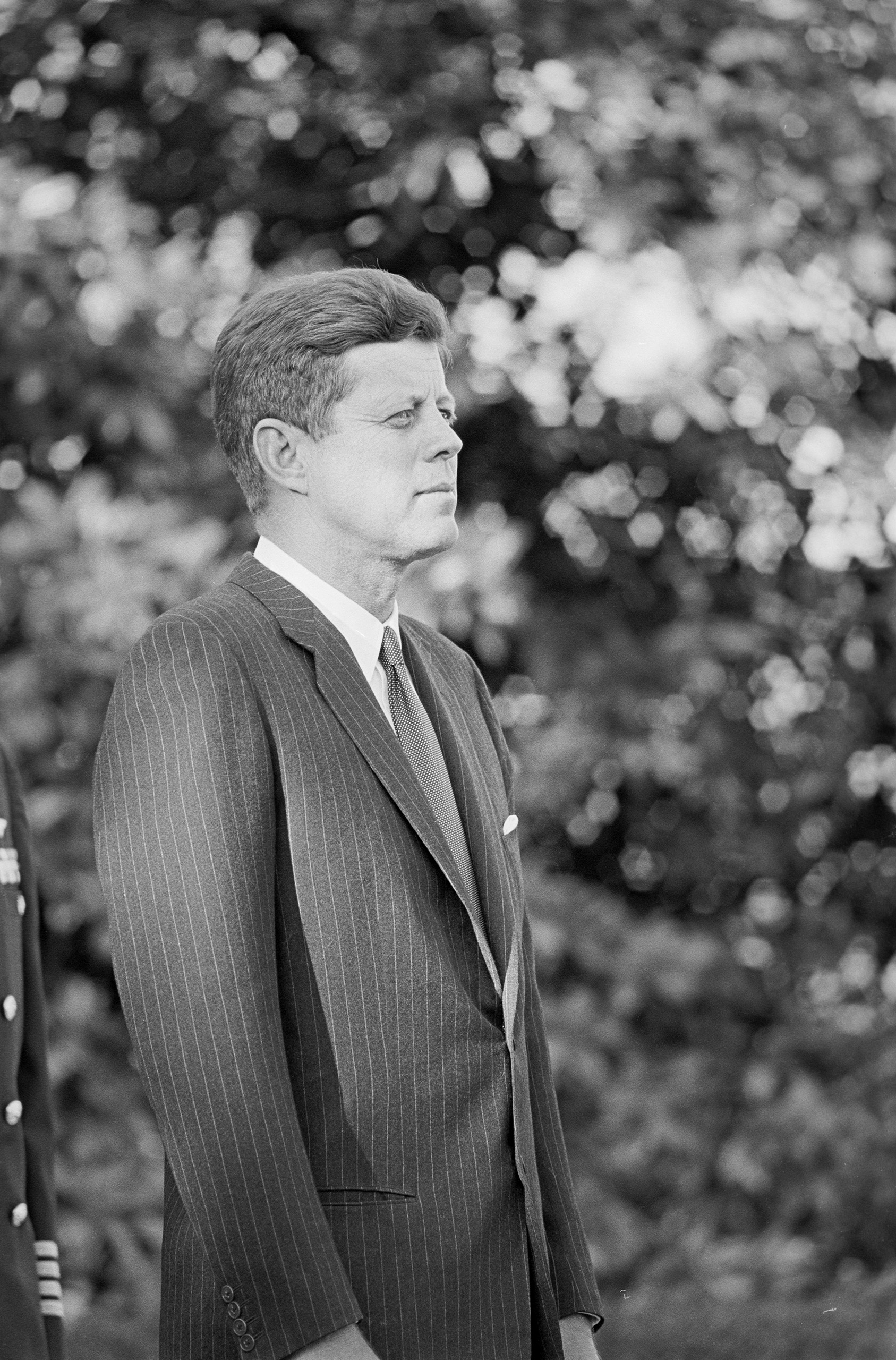 John F. Kennedy, medal of honor ceremony.