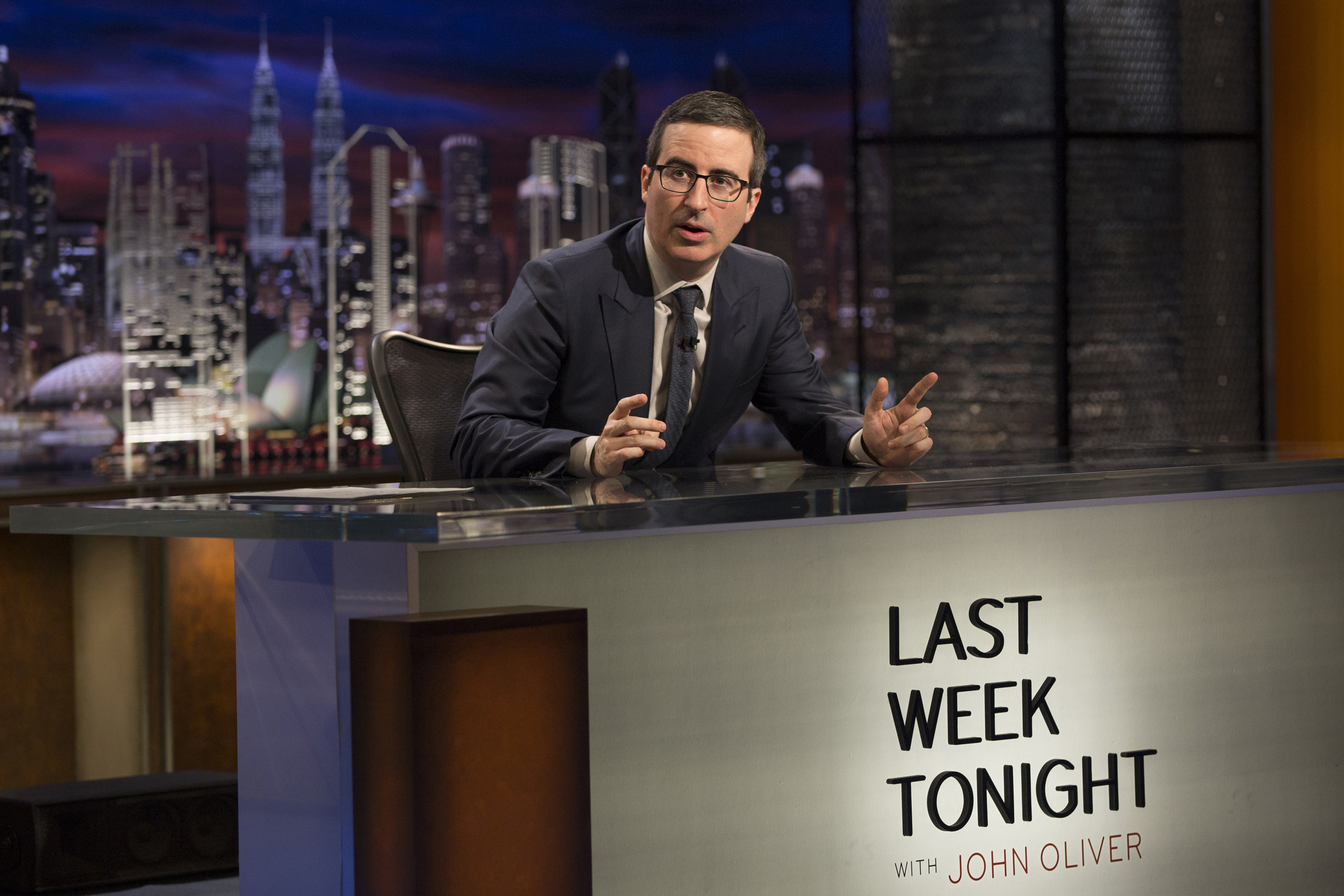 John Oliver on  Last Week Tonight with John Oliver