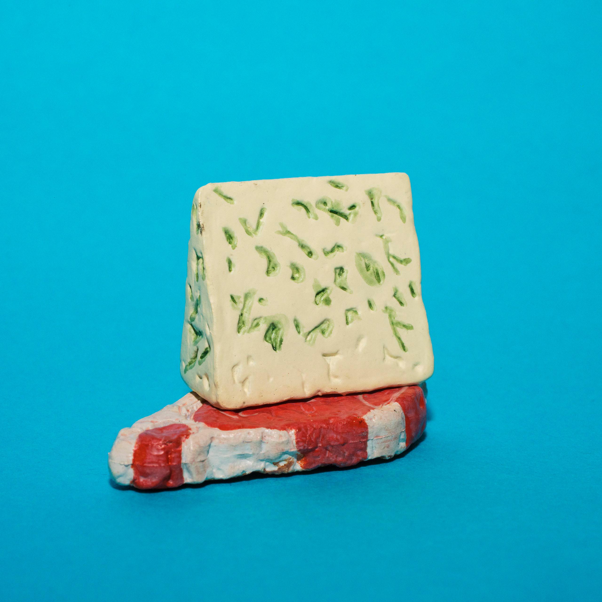 #blue #cheese #steak #thingsarequeer #ブルー #チーズ #ステーキ