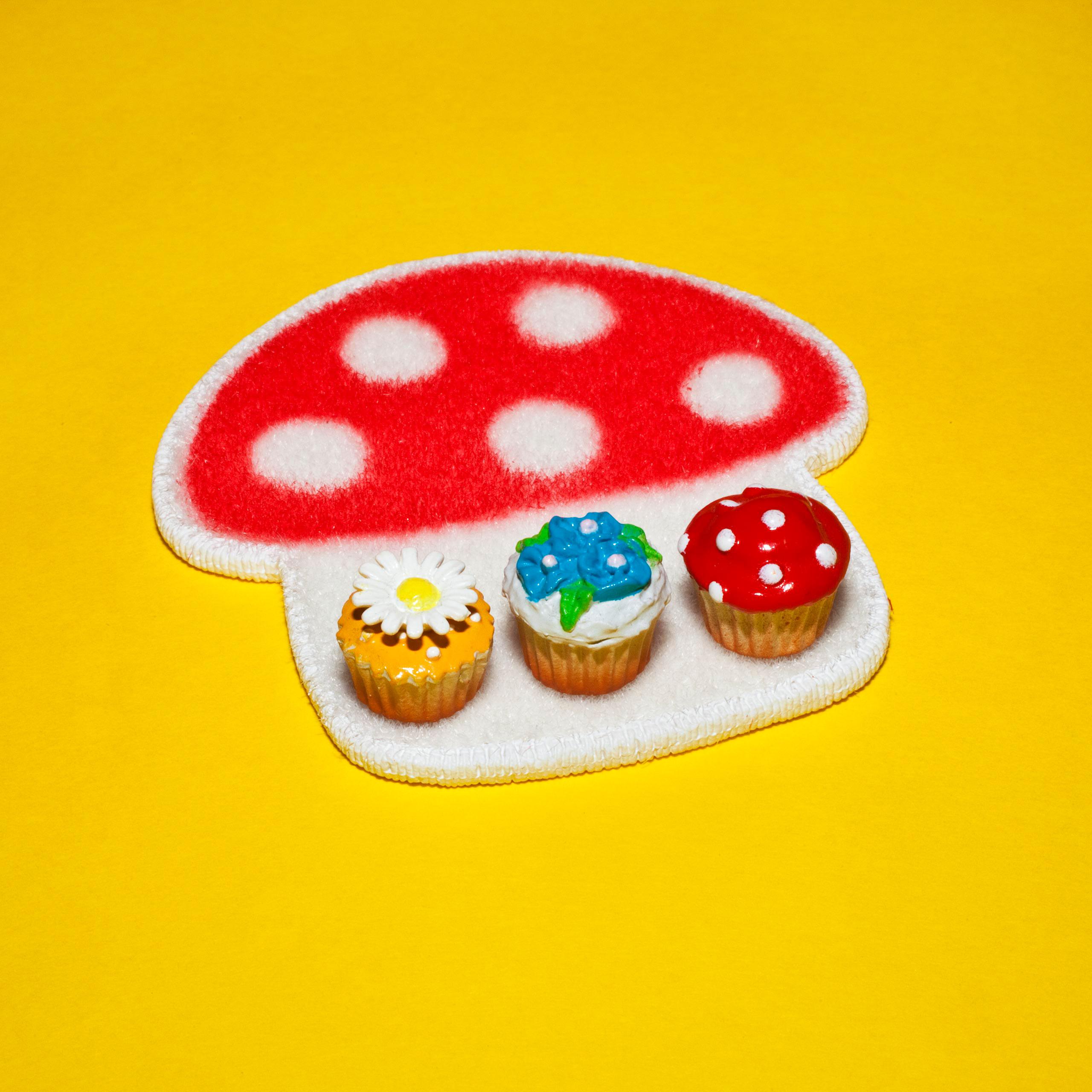 #flowerpower #polkadots #mushroom #thingsarequeer