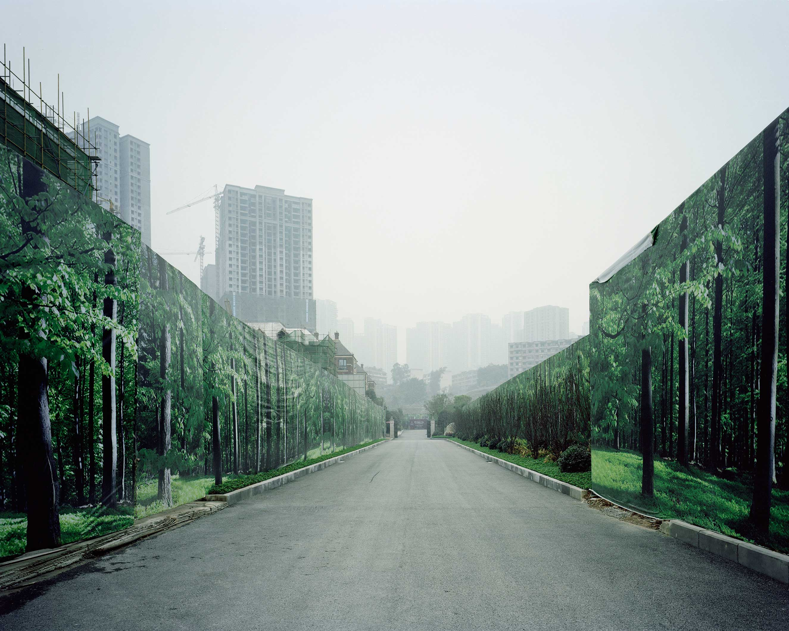 Chongqing, China, January 2015.
