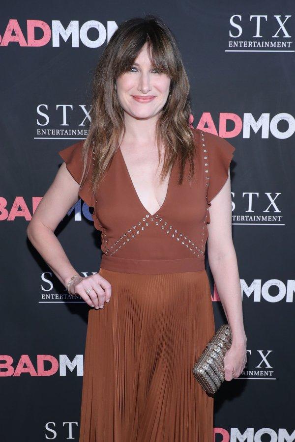 Bad Moms Star Kathryn Hahn on Motherhood and Pinterest Envy