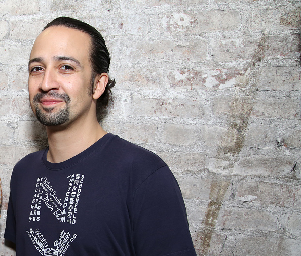 Lin-Manuel Miranda who plays the title character in the Tony Award winning musical 'Hamilton' at the Richard Rodgers Theater on June 16, 2016 in New York City.