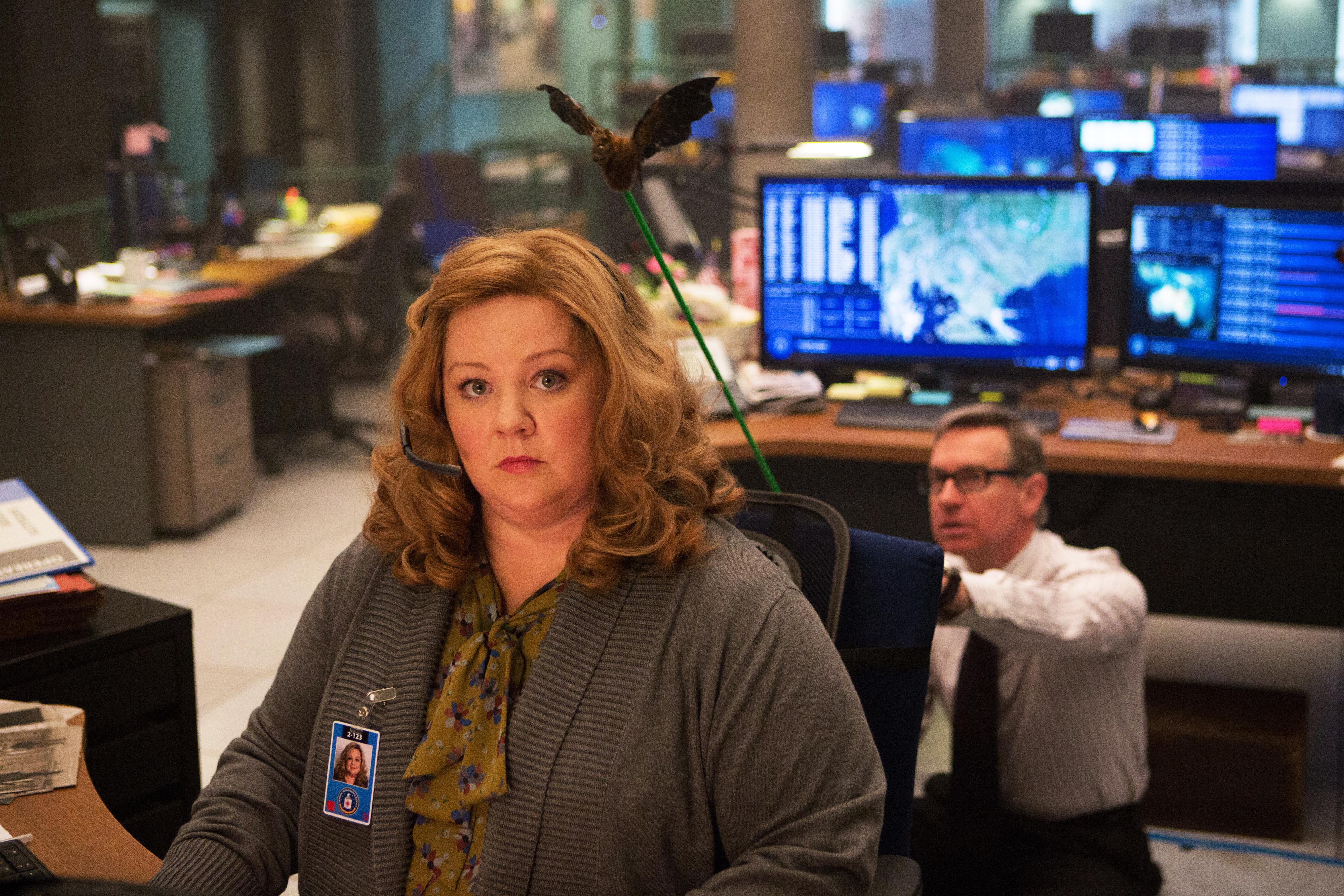 Melissa McCarthy as Susan Cooper in Spy, 2015.