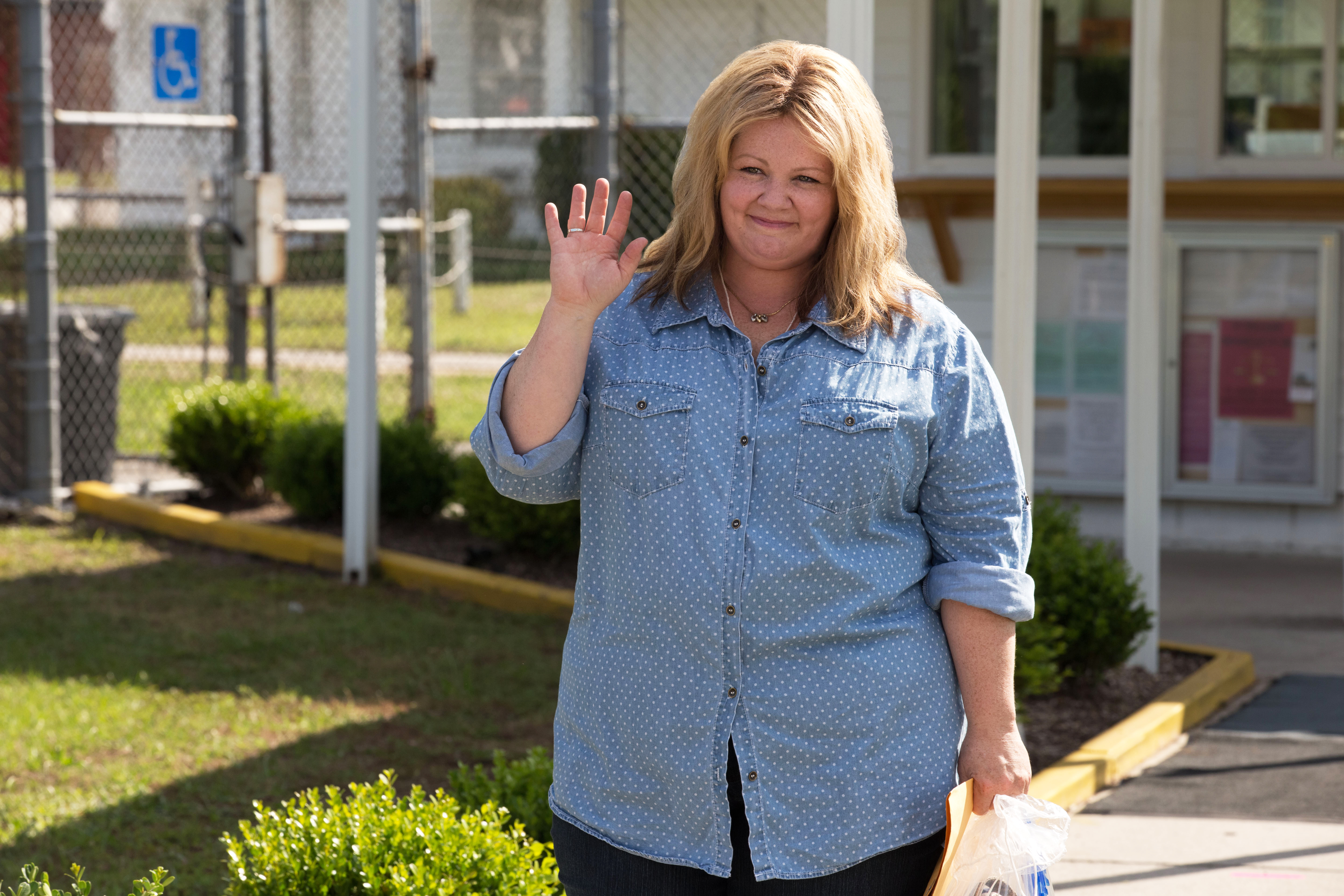 Melissa McCarthy as Tammy Banks in Tammy, 2014.