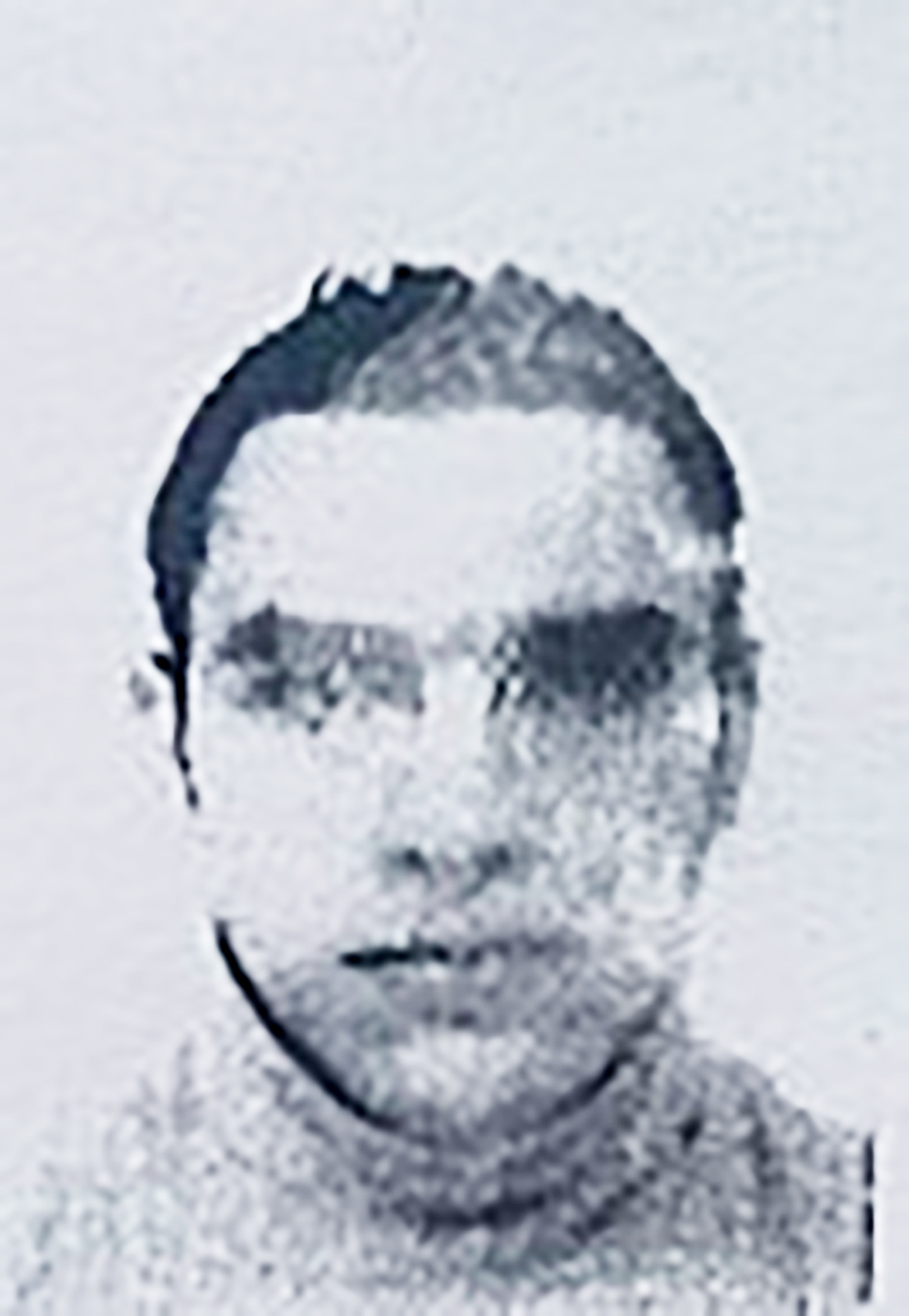 This image obtained by AFP from a French police source on July 15, 2016, shows a reproduction of the picture on the residence permit of Mohamed Lahouaiej Bouhlel