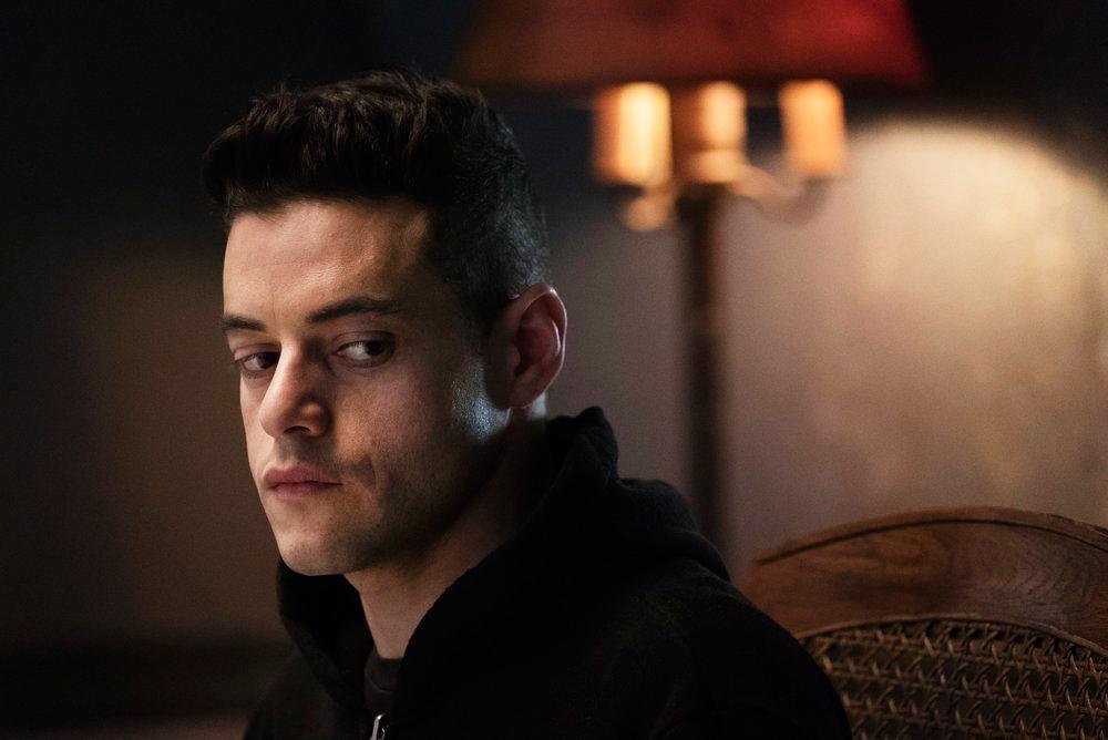 Rami Malek as Eliot Alderson in Mr. Robot.