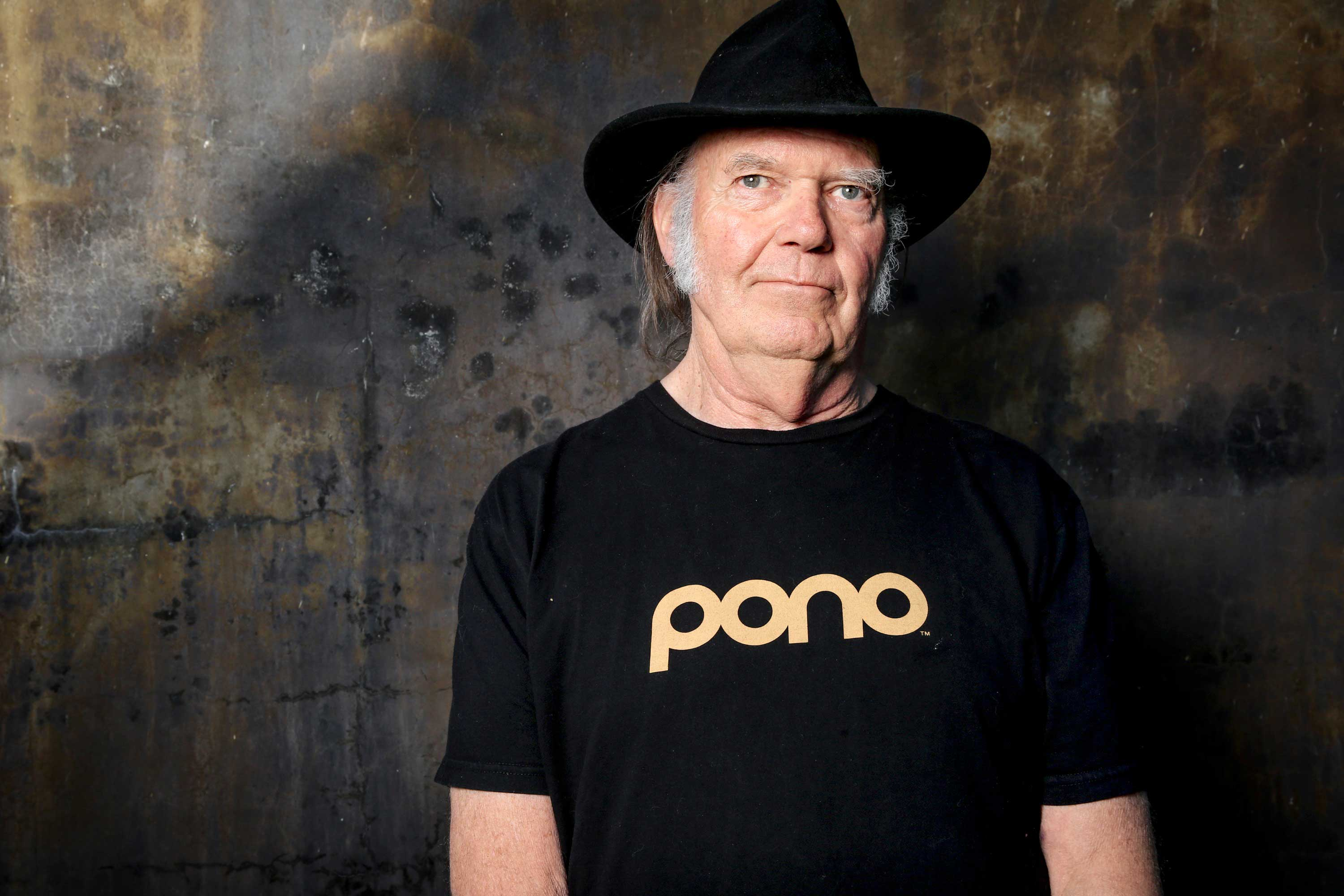 A bear stalks Neil Young's new Earth
