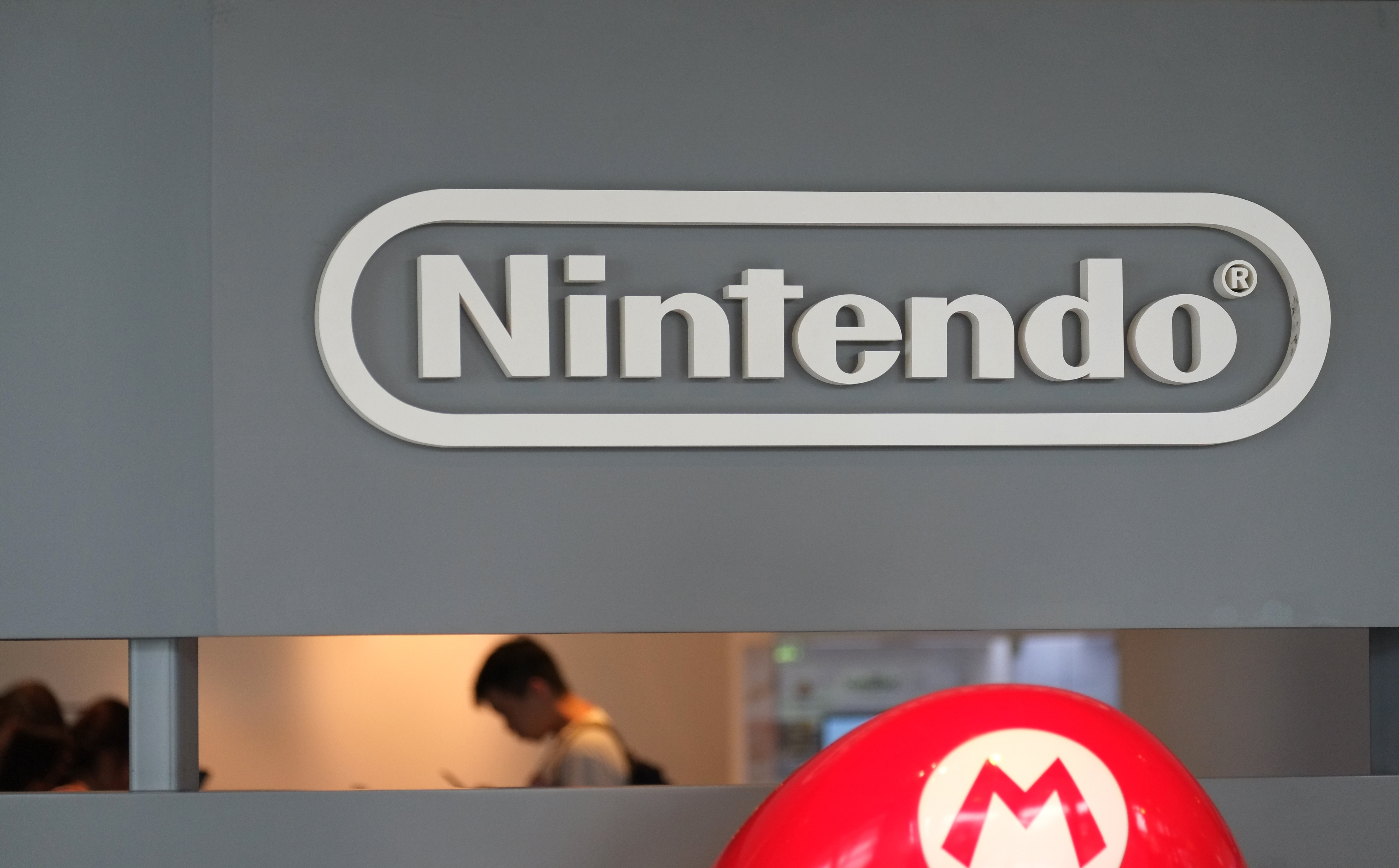 The logo of Japanese gaming giant Nintendo is displayed at a show room in Tokyo on July 20, 2016.
