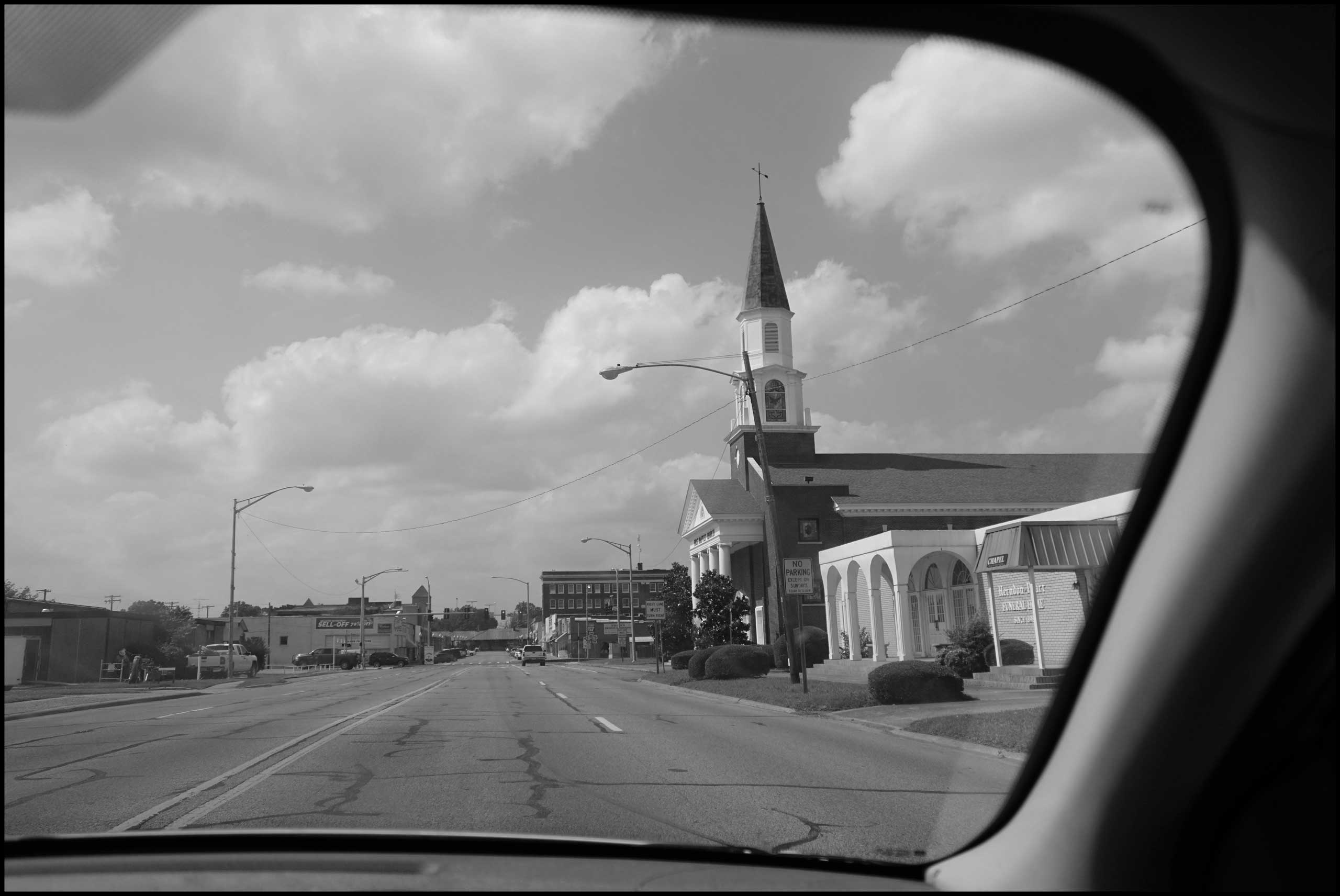 Downtown Hope, Ark. 2016.