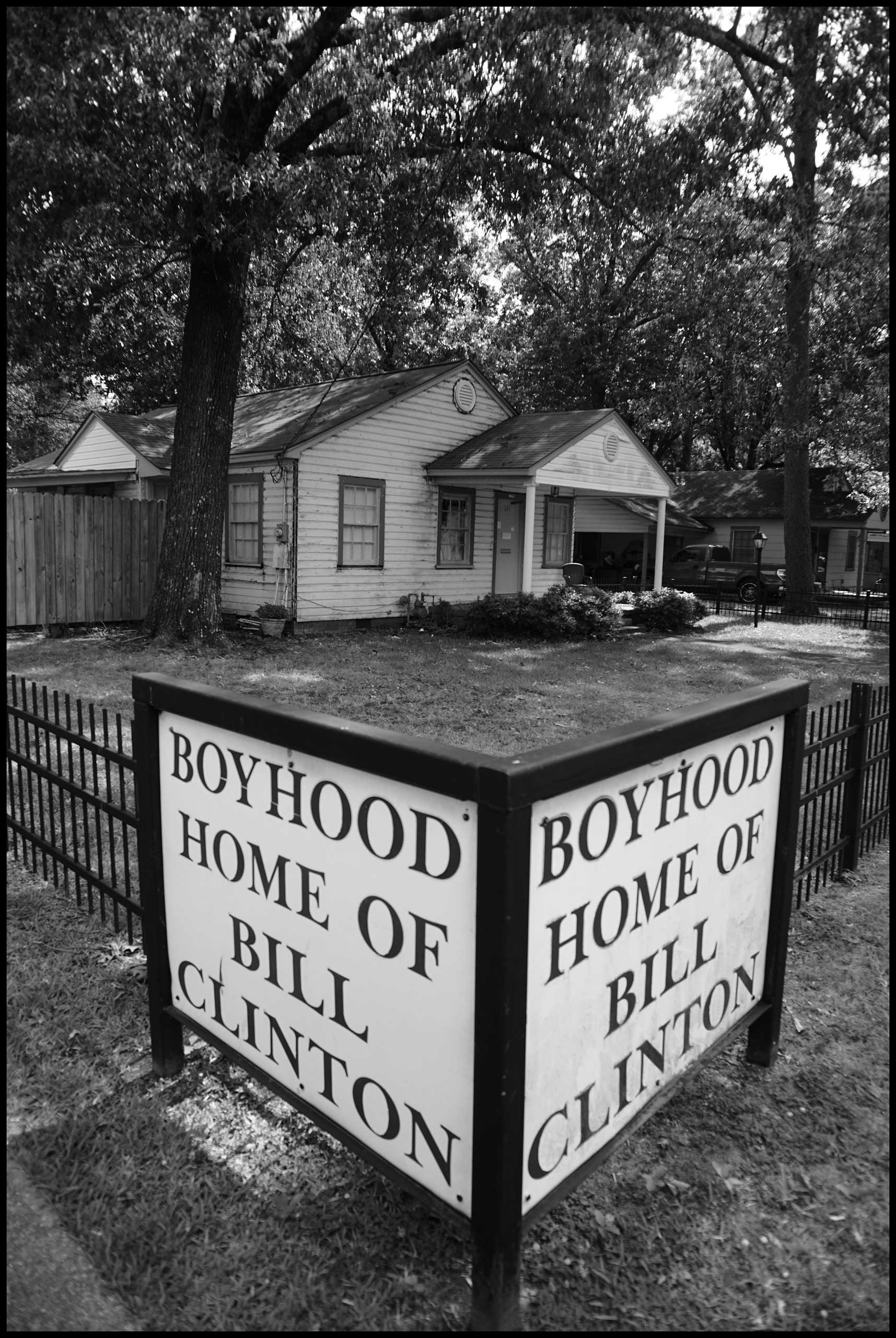 The house that Bill Clinton grew up in. Hope, Ark. 2016.