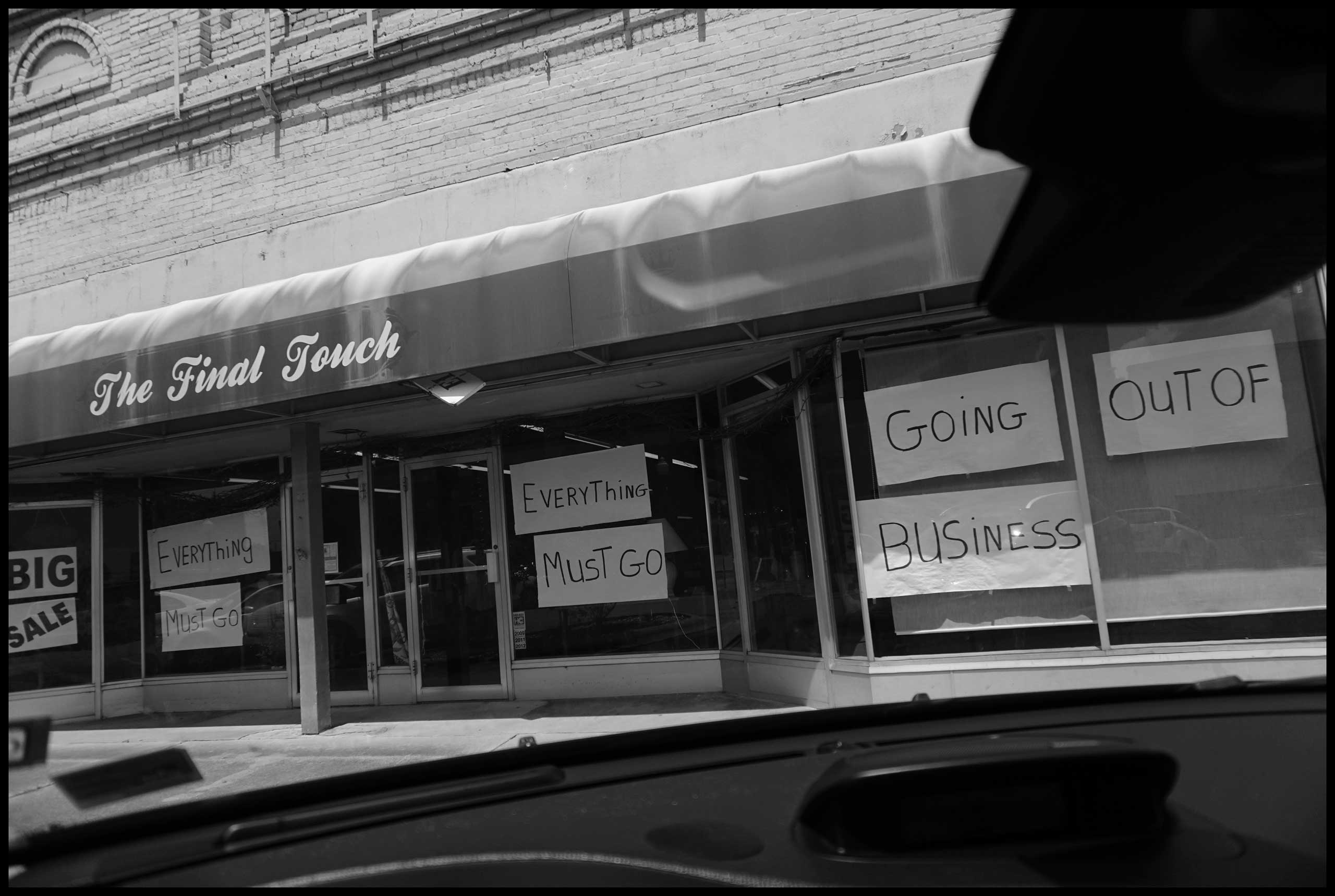 The last Touch store going out of business in Hope, Ark. 2016.