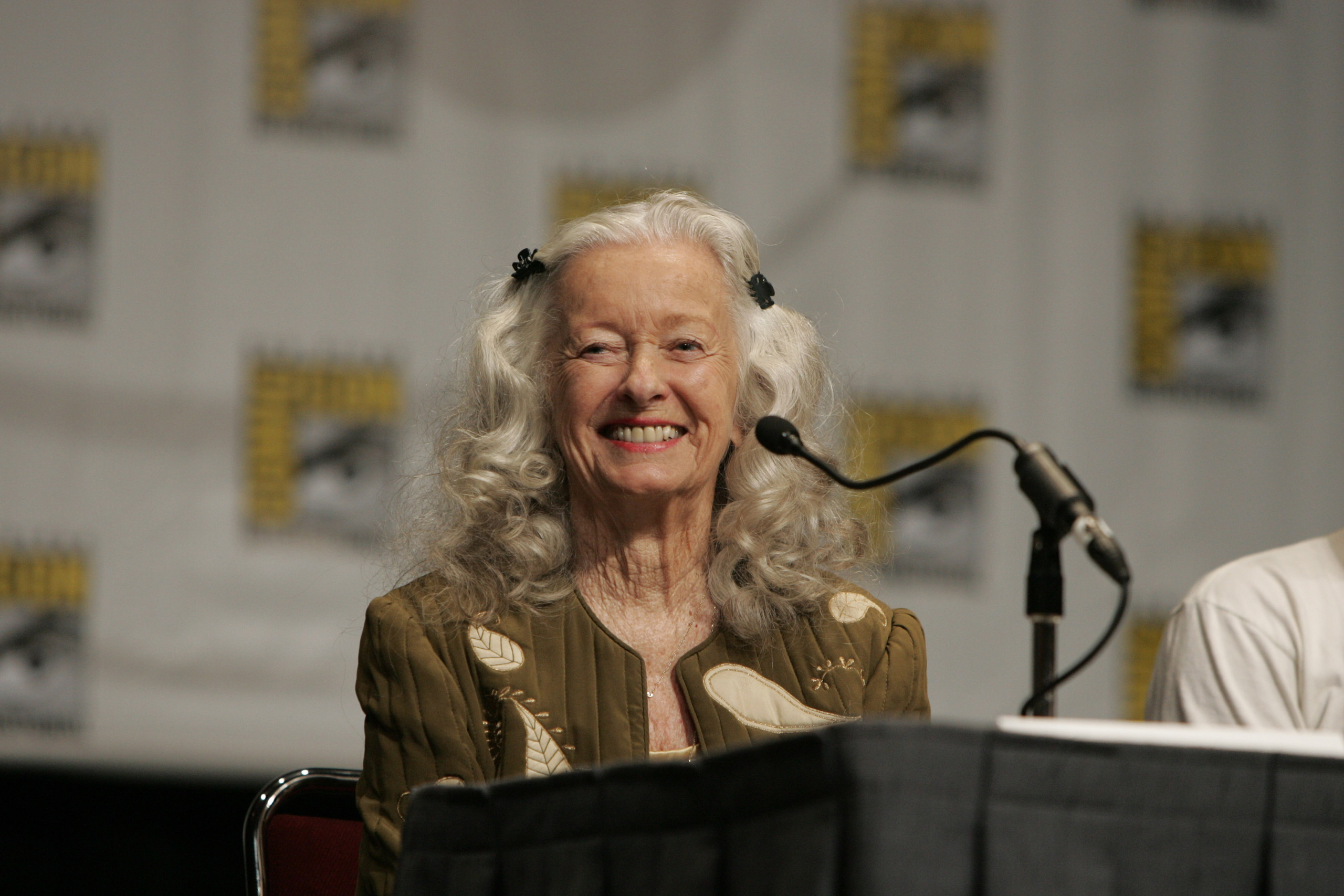 Noel Neill during Warner Home Video introduces 'Superman II: The Richard Donner Cut' and the New 'Superman' DVD collections featuring Christopher Reeve's Man of Steel at Comic Con in San Diego, Calif.