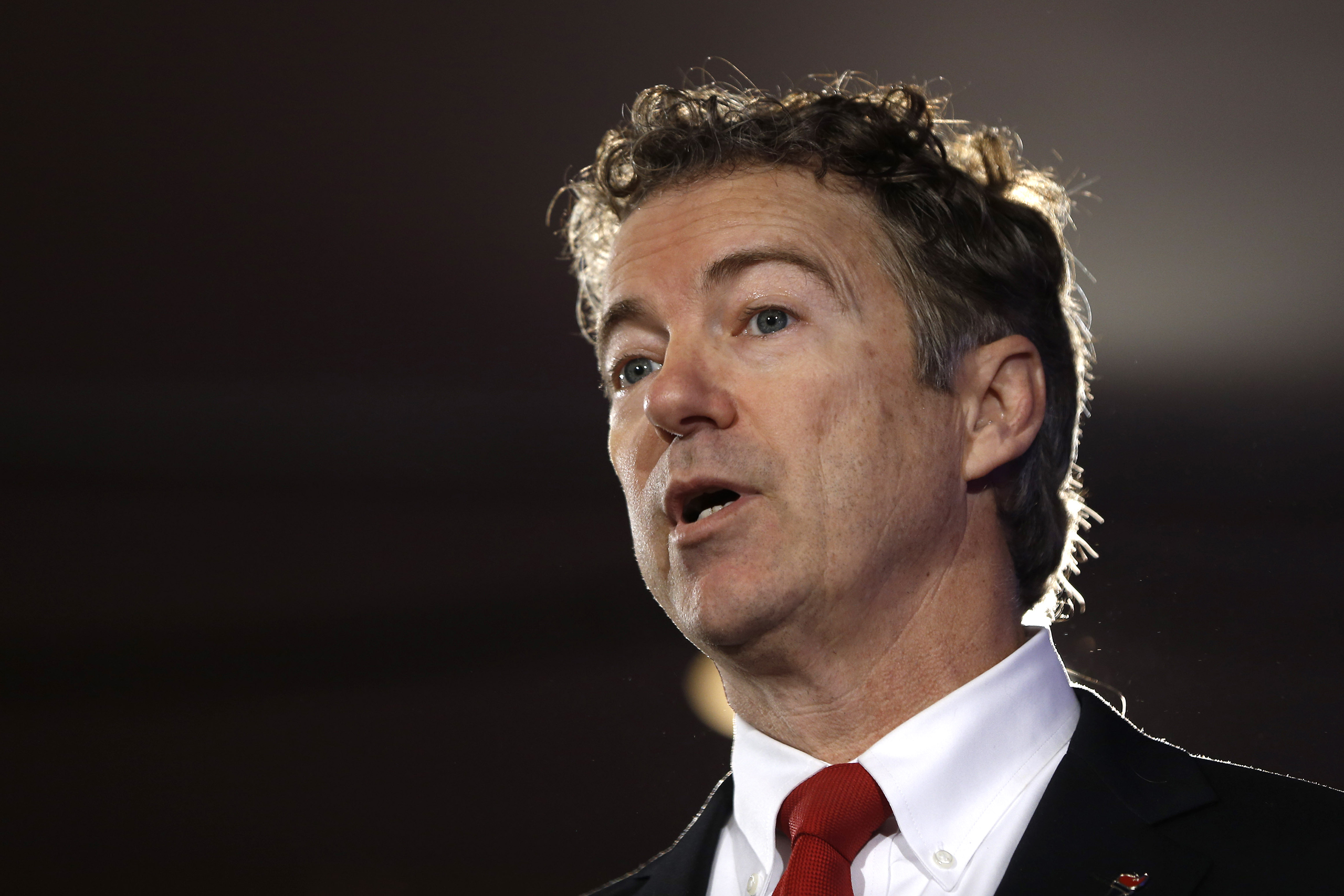 Sen. Rand Paul speaks at the New Hampshire Republican Party summit in Nashua, N.H., Jan. 23, 2016.