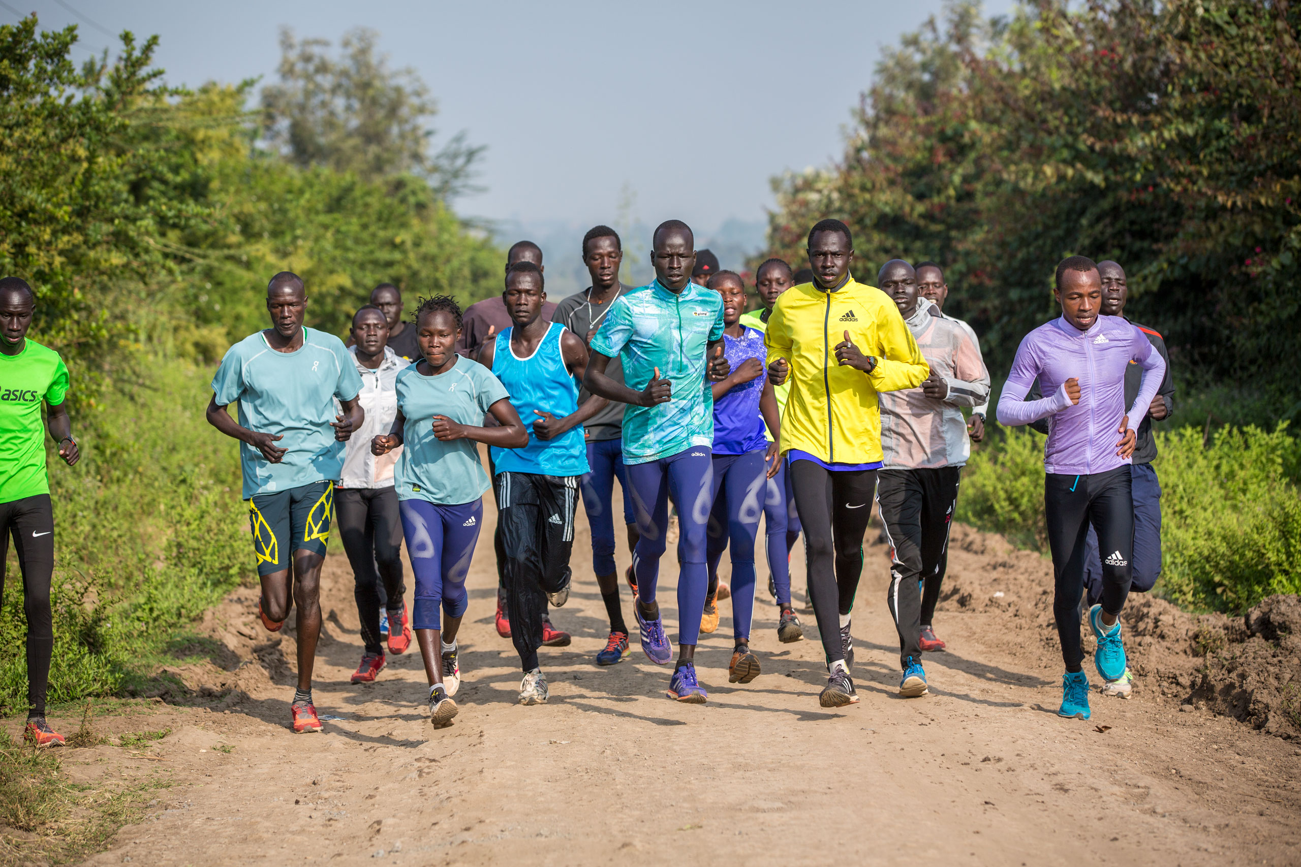 At Loroupe's training center in Kenya, refugee runners worked hard to earn one of 10 spots on the squad bound for Brazil