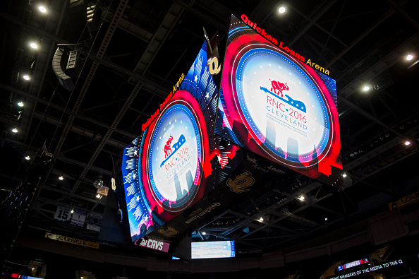 The Quicken Loans Arena will host the 2016 Republican National Convention in Cleveland, Ohio.
