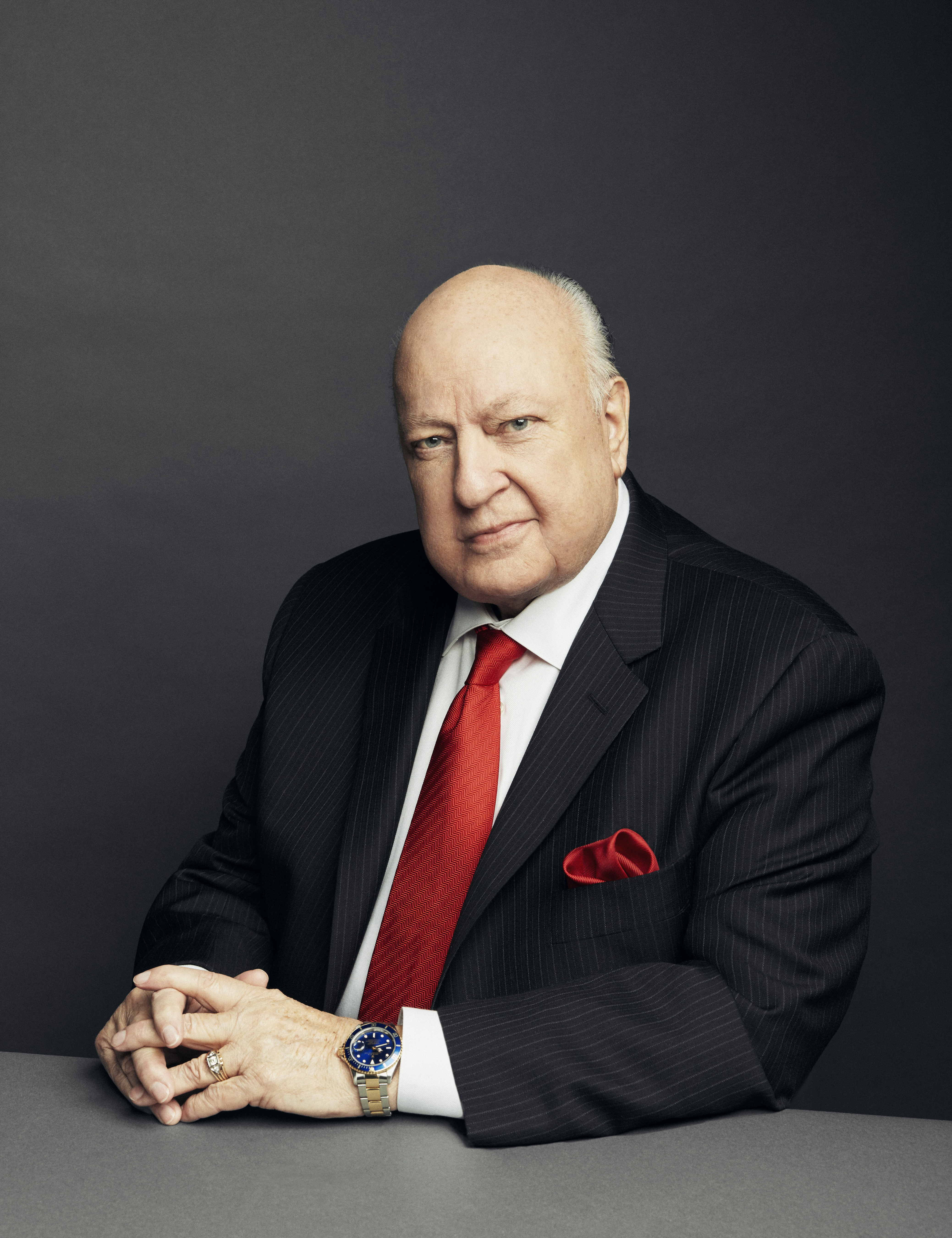 Roger Ailes at FOX's Manhattan headquarters in New York City, on Nov. 13, 2015.