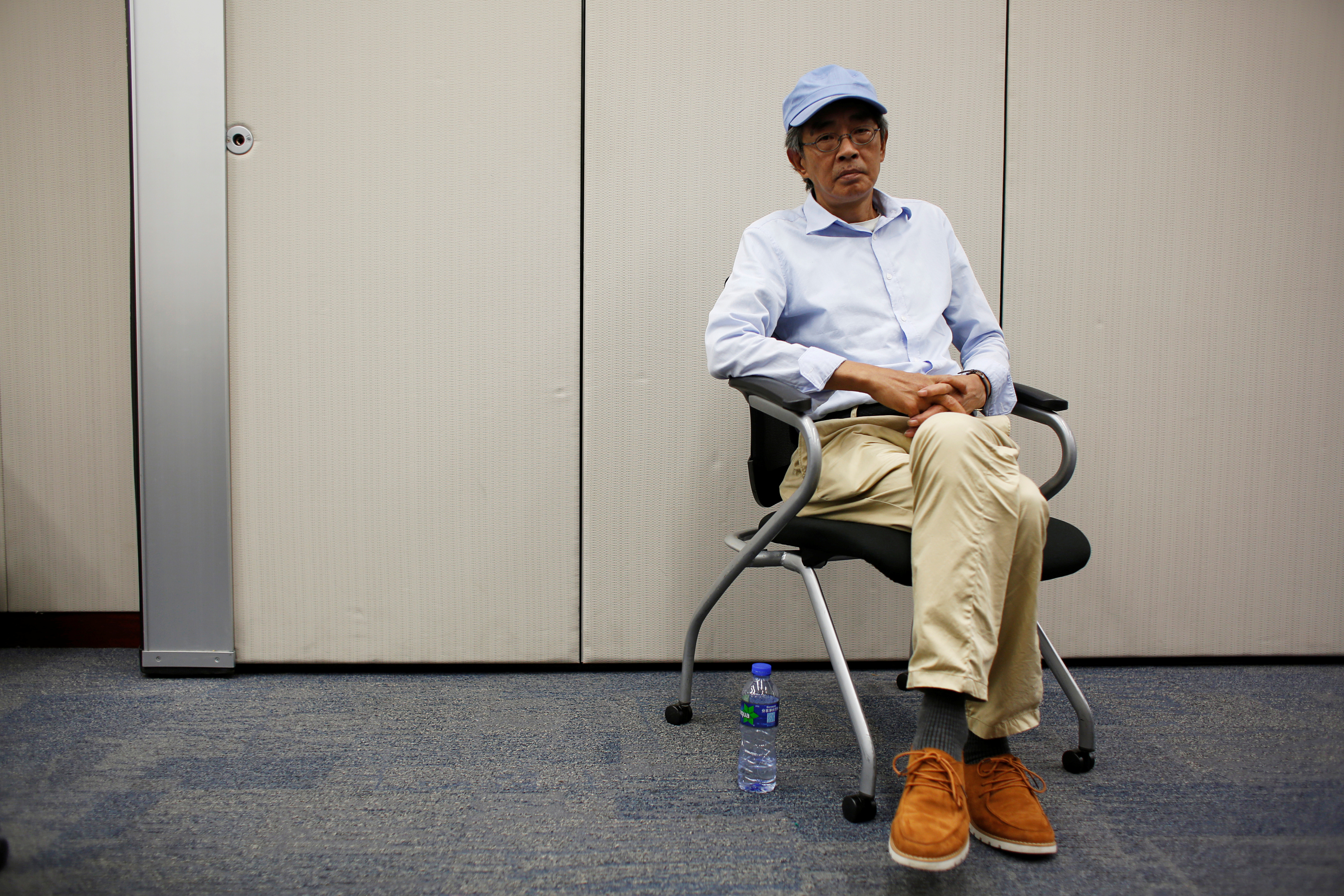 Bookseller Lam Wing-kee poses during an interview in Hong Kong, China June 19, 2016.