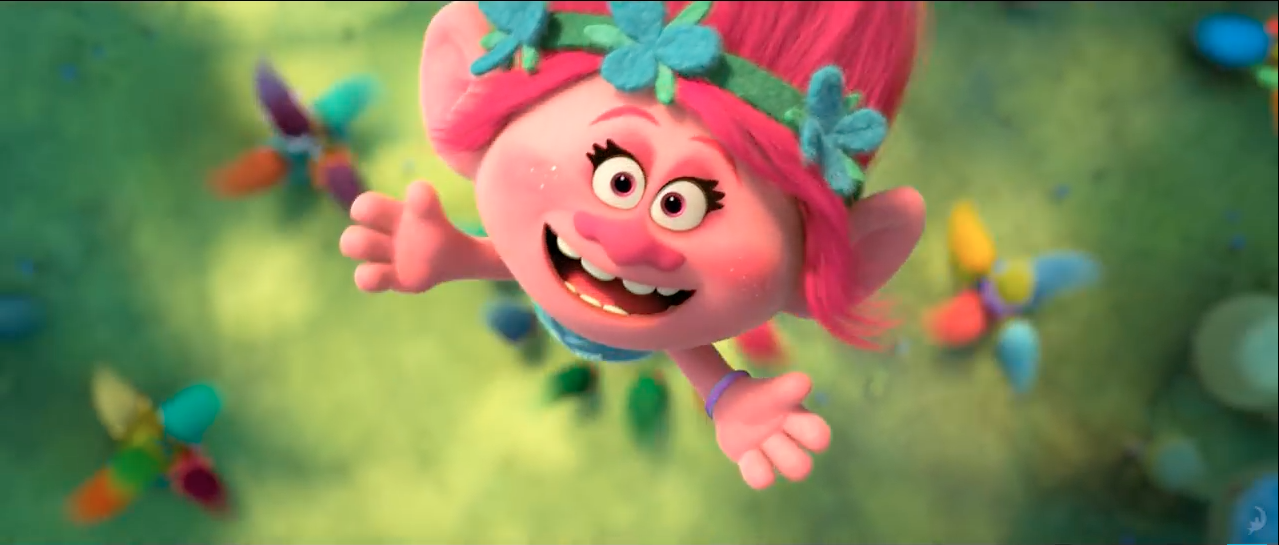 Princess Poppy in Trolls