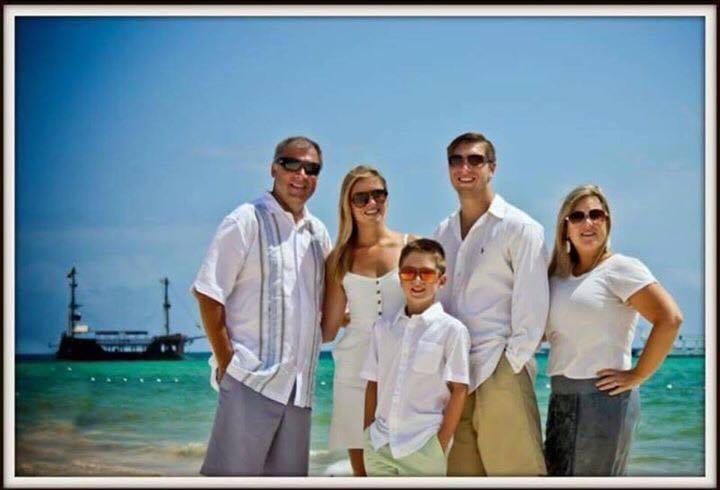 L-R: Sean Copeland, Maegan Copeland, Brodie Copeland, Austin Copeland and Kim Copeland