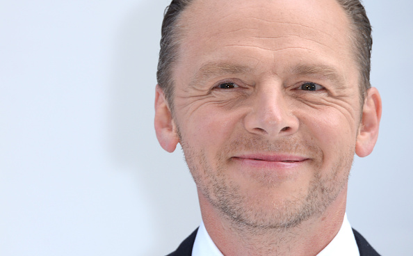 Simon Pegg attends the UK premiere of 'Star Trek Beyond' on July 12, 2016 in London, United Kingdom.